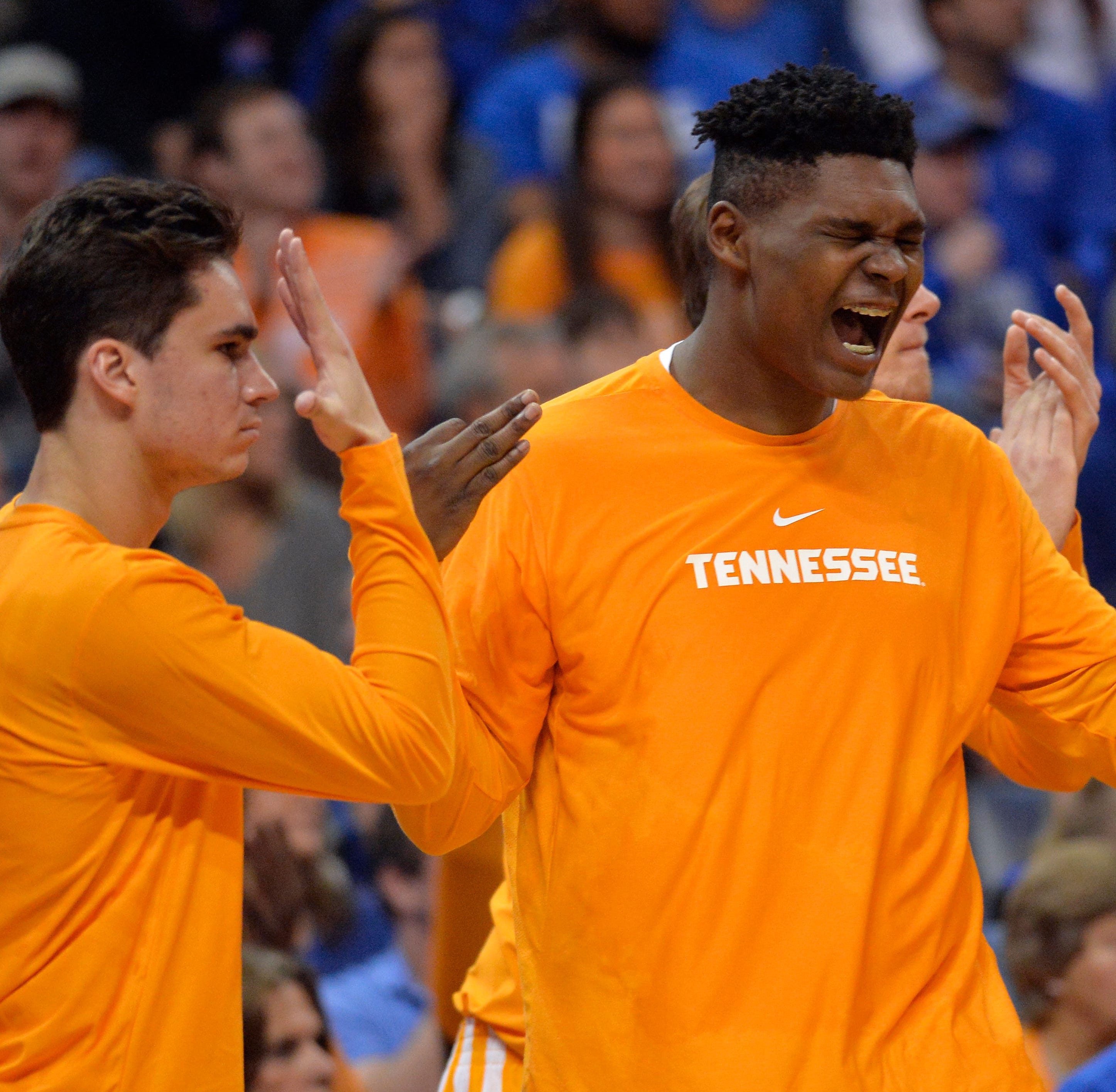 What D.J. Burns gained from redshirt season with Tennessee basketball