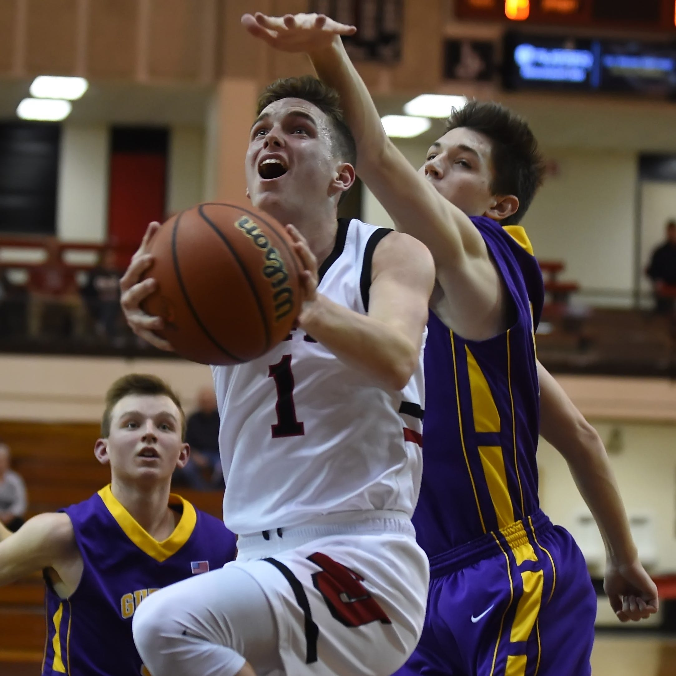 Beaver, Barnhizer from 3 add up to easy Lafayette Jeff basketball victory