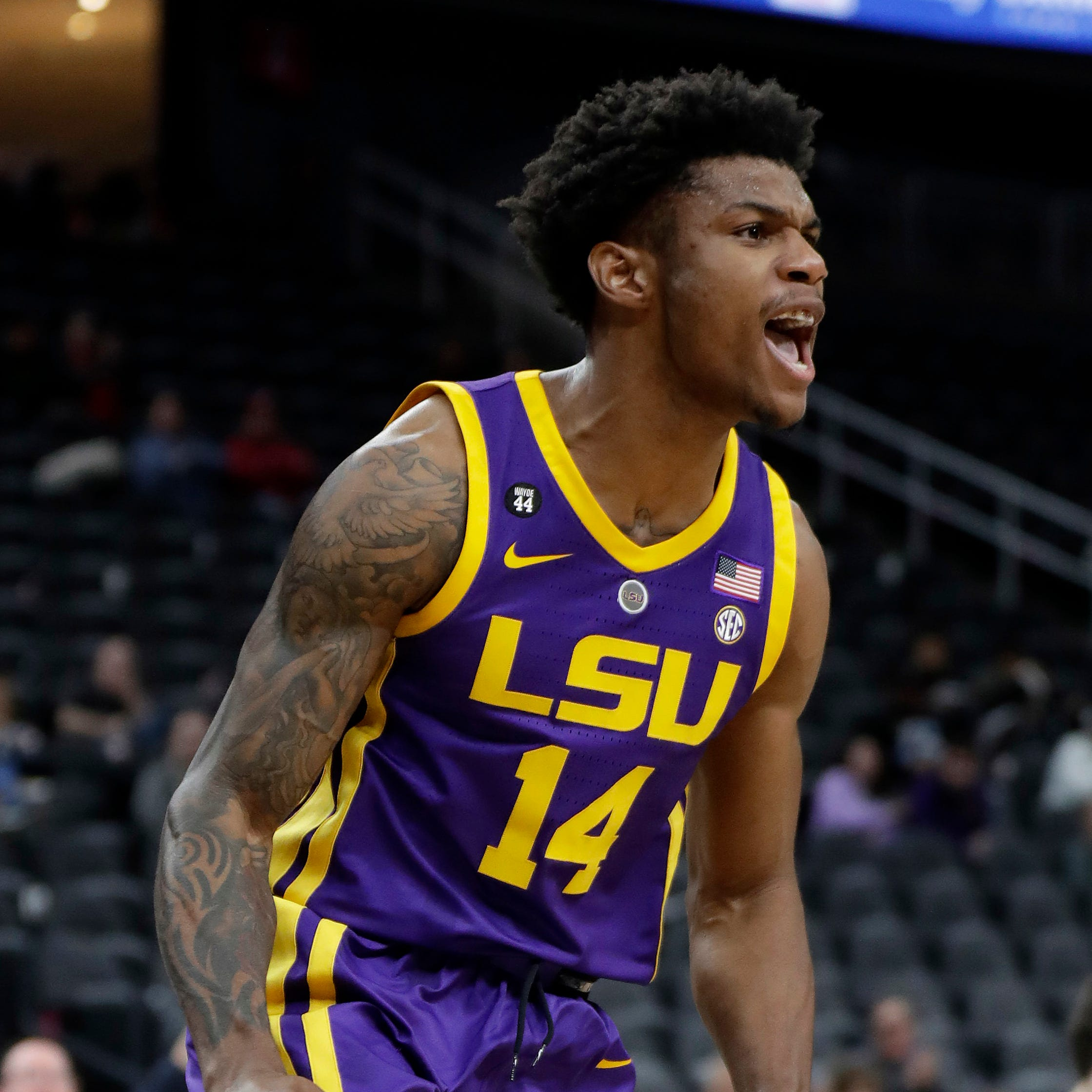 LSU loses lead, but this time it wins the game over Saint Mary's, 78-74, in Las Vegas