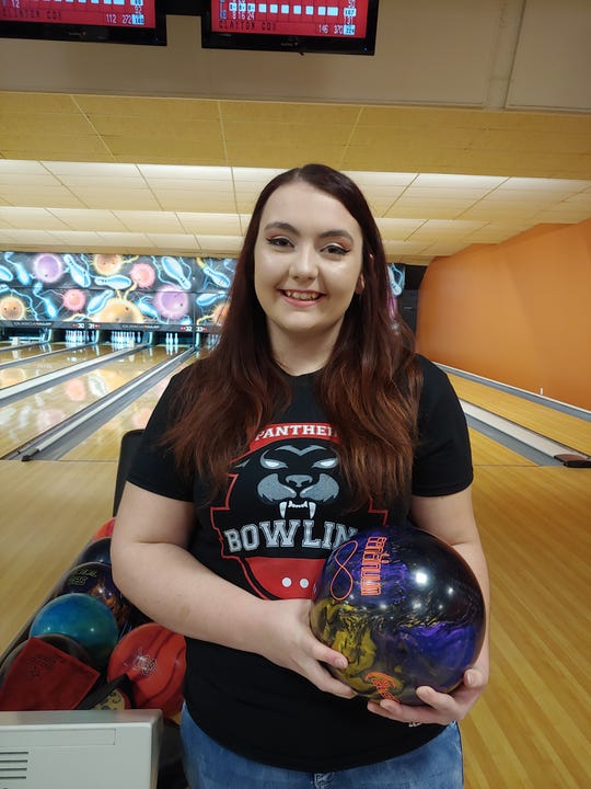 Pleasure Ridge Park High School senior Taylor Booth rolled a perfect 300 on Dec. 11 against Mercy at the Fern Bowl.