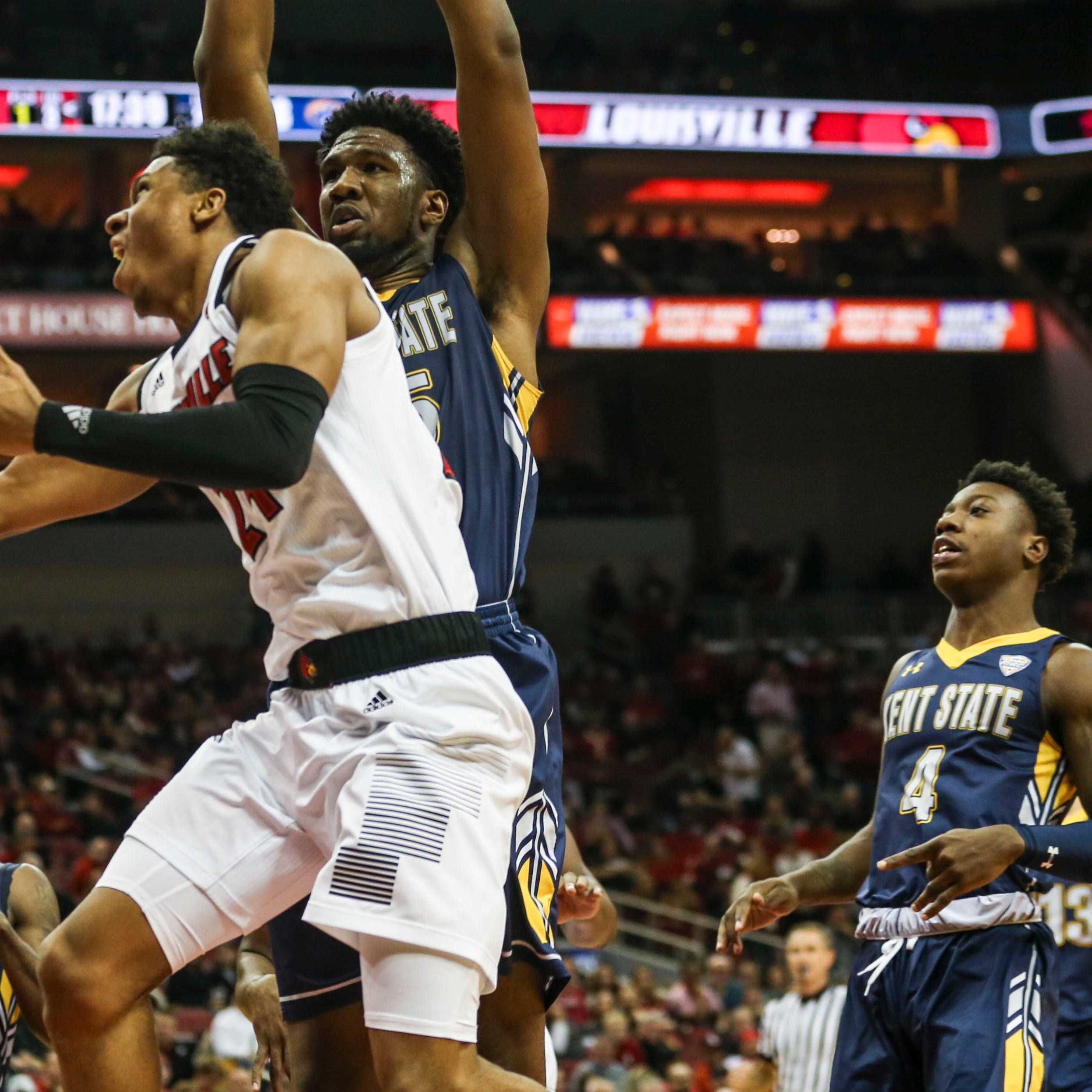 Sleek, balanced offense leads Louisville basketball in Kent State win