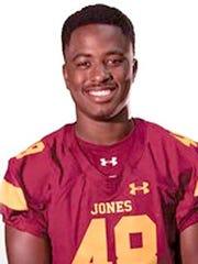 Linebacker Wardalis Ducksworth of Jones County Community College (Miss.)