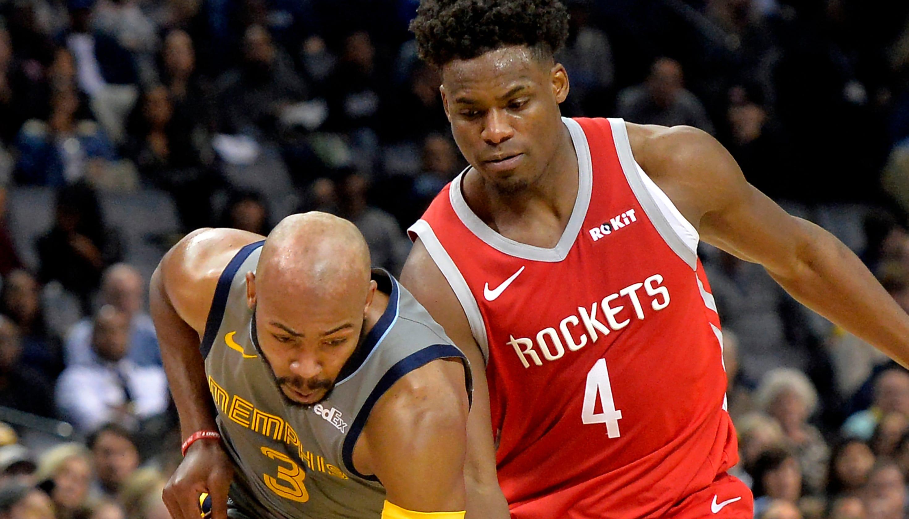 5021354d906 Jevon Carter makes NBA debut for Memphis Grizzlies vs. Rockets