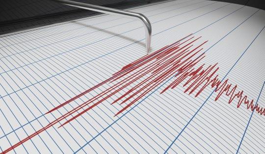 A seismograph for earthquake detection.