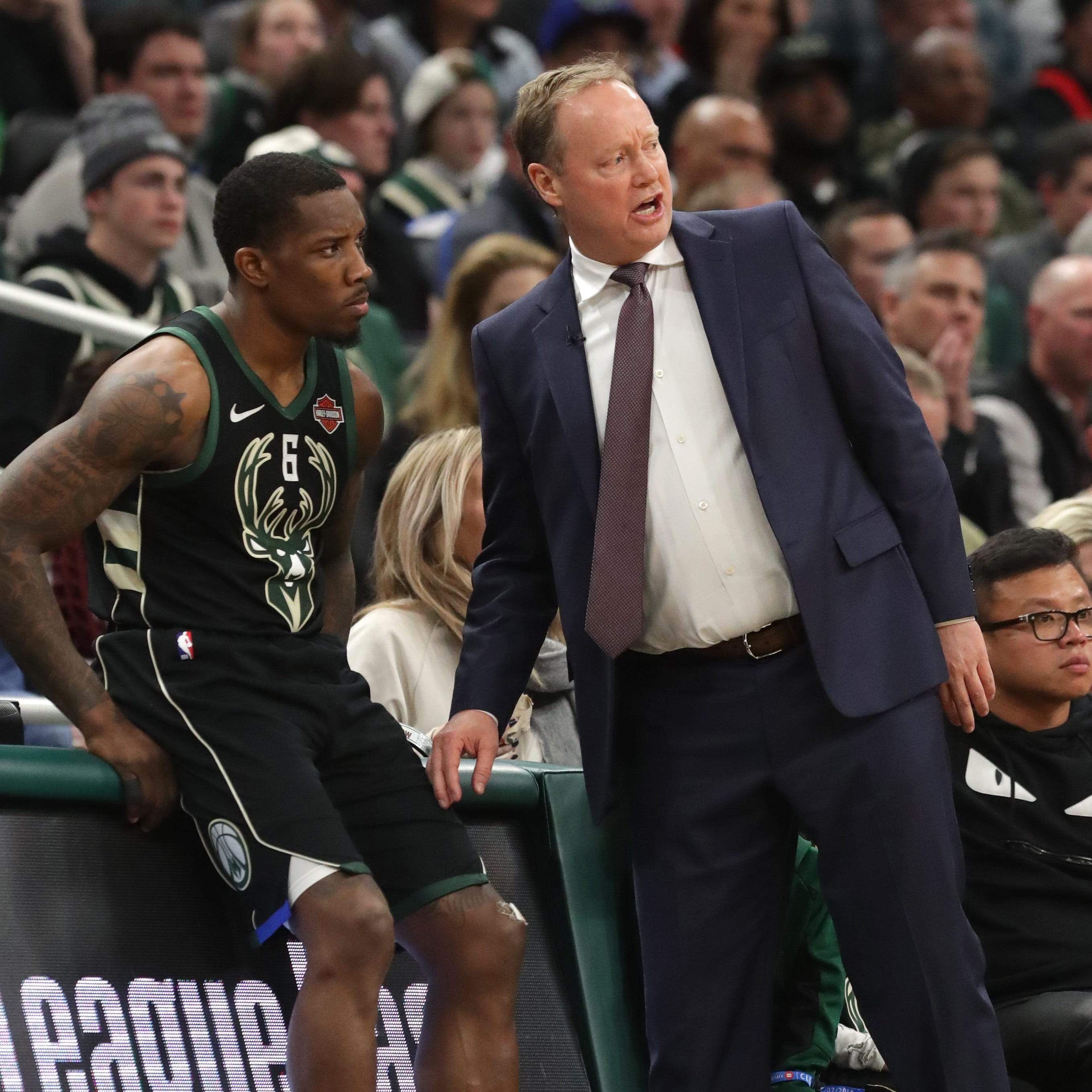 Budenholzer trying to solve Bucks puzzle of too many guards and not enough rotation spots