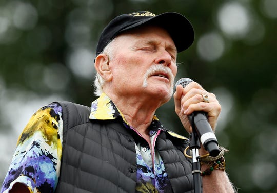 Mike Love performs with the Beach Boys lead at Howard J. Lamade Stadium as part of the Little League World Series. August 19, 2018, South Williamsport, Pa.
