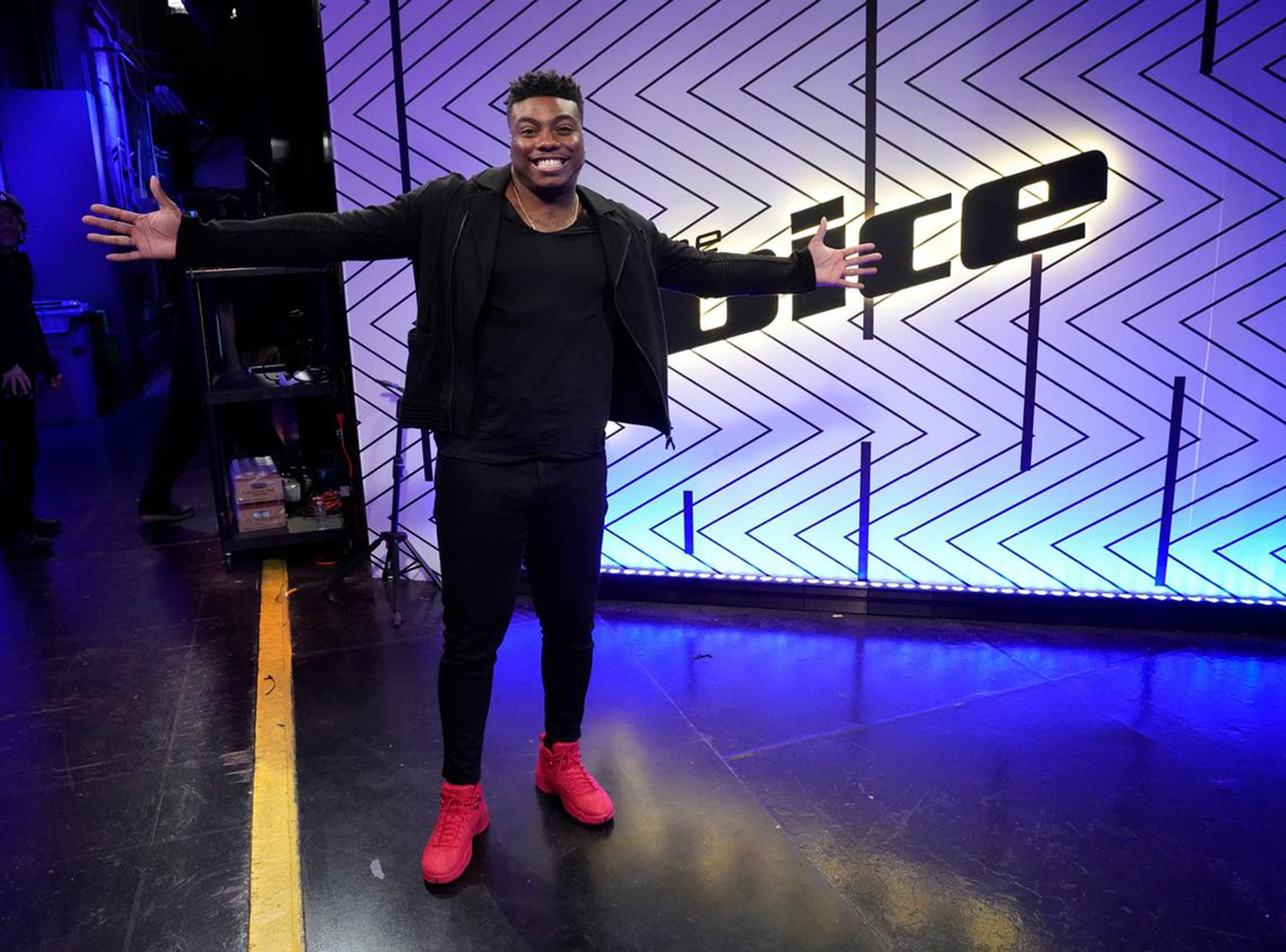 "Kirk Jay is ready to shine as one of the top four on NBC's ""The Voice."""