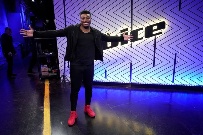 """Kirk Jay is ready to shine as one of the top four on NBC's """"The Voice."""""""
