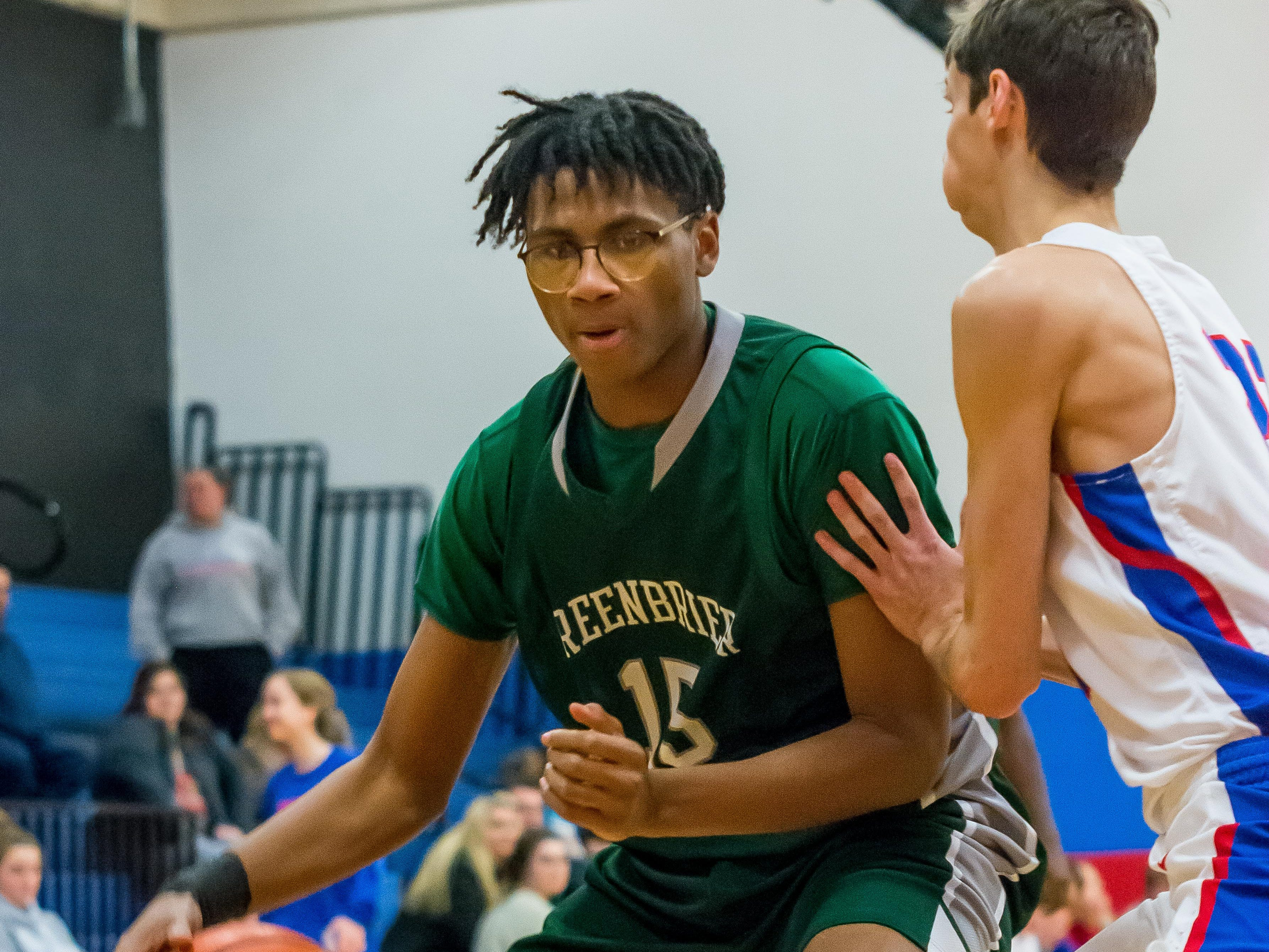 Greenbrier's Keifus Coleman finished with 21 points against Harpeth.