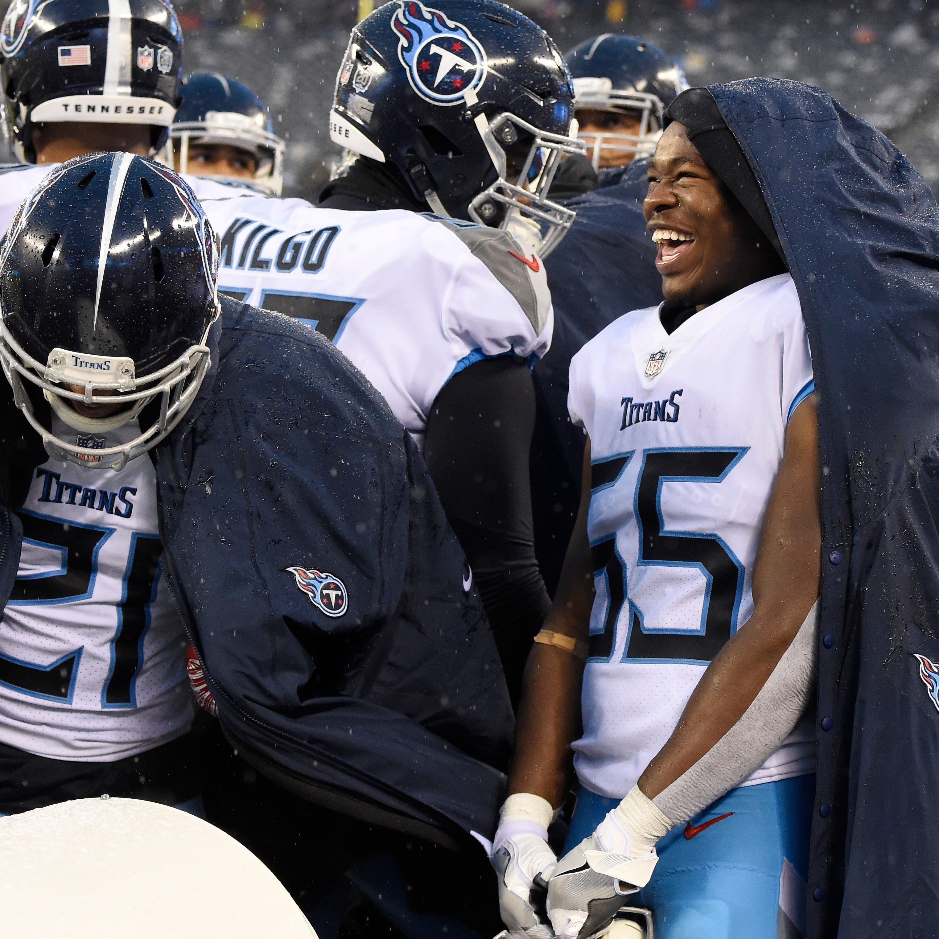 Titans report card: Derrick Henry, defense power win vs. Giants