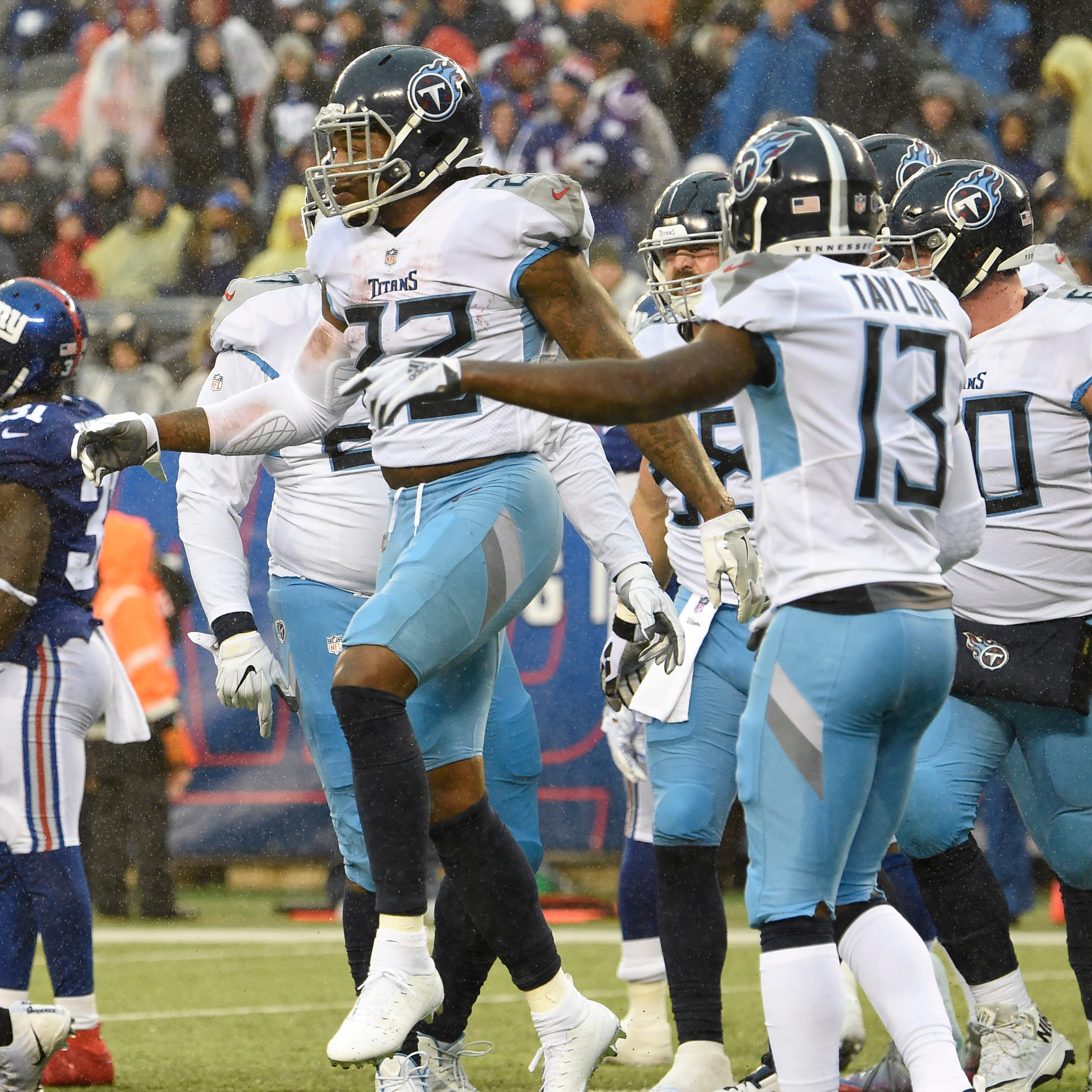 Derrick Henry is the story again, and Titans' story is changing because of him