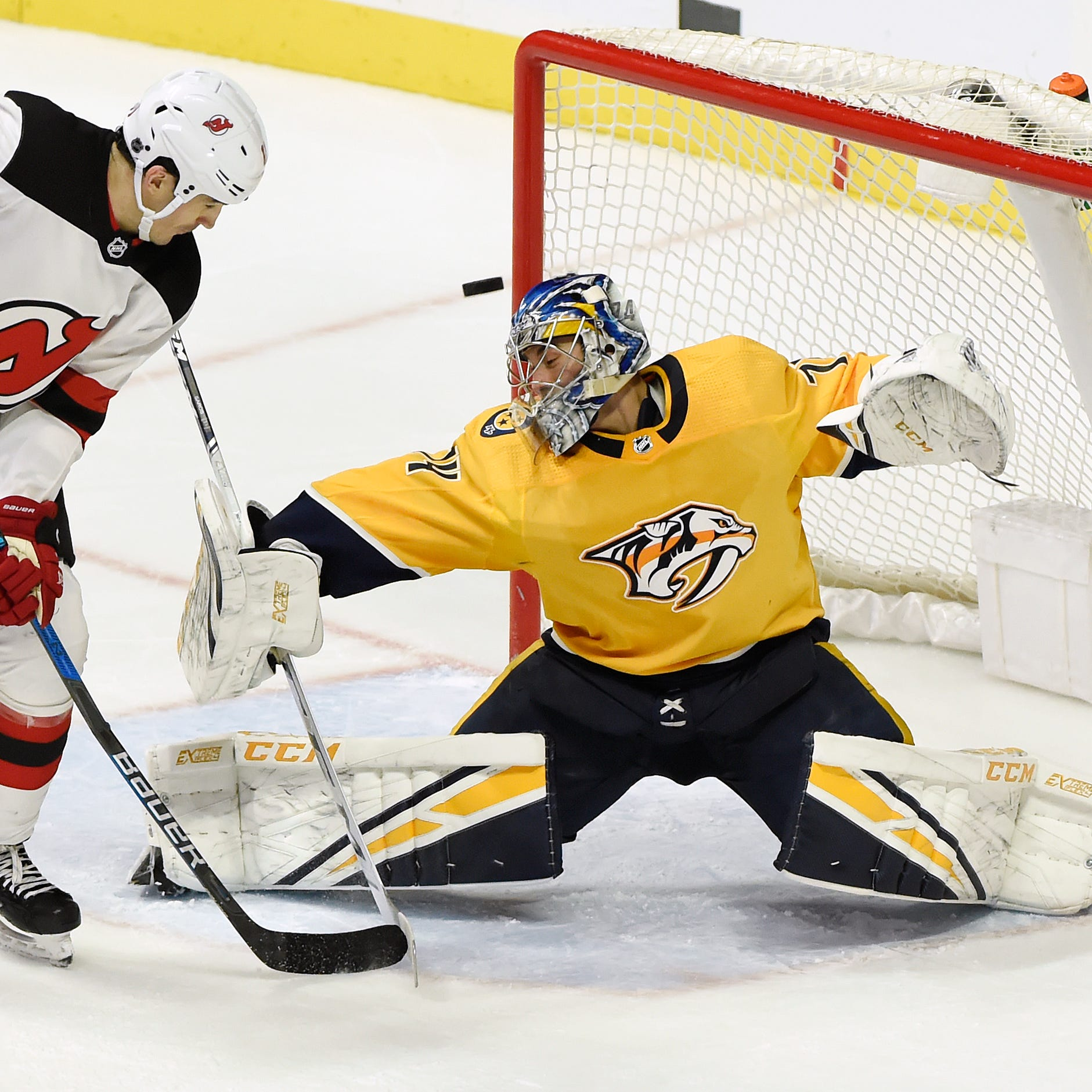 Saturday's recap: Predators 2, Devils 1, shootout