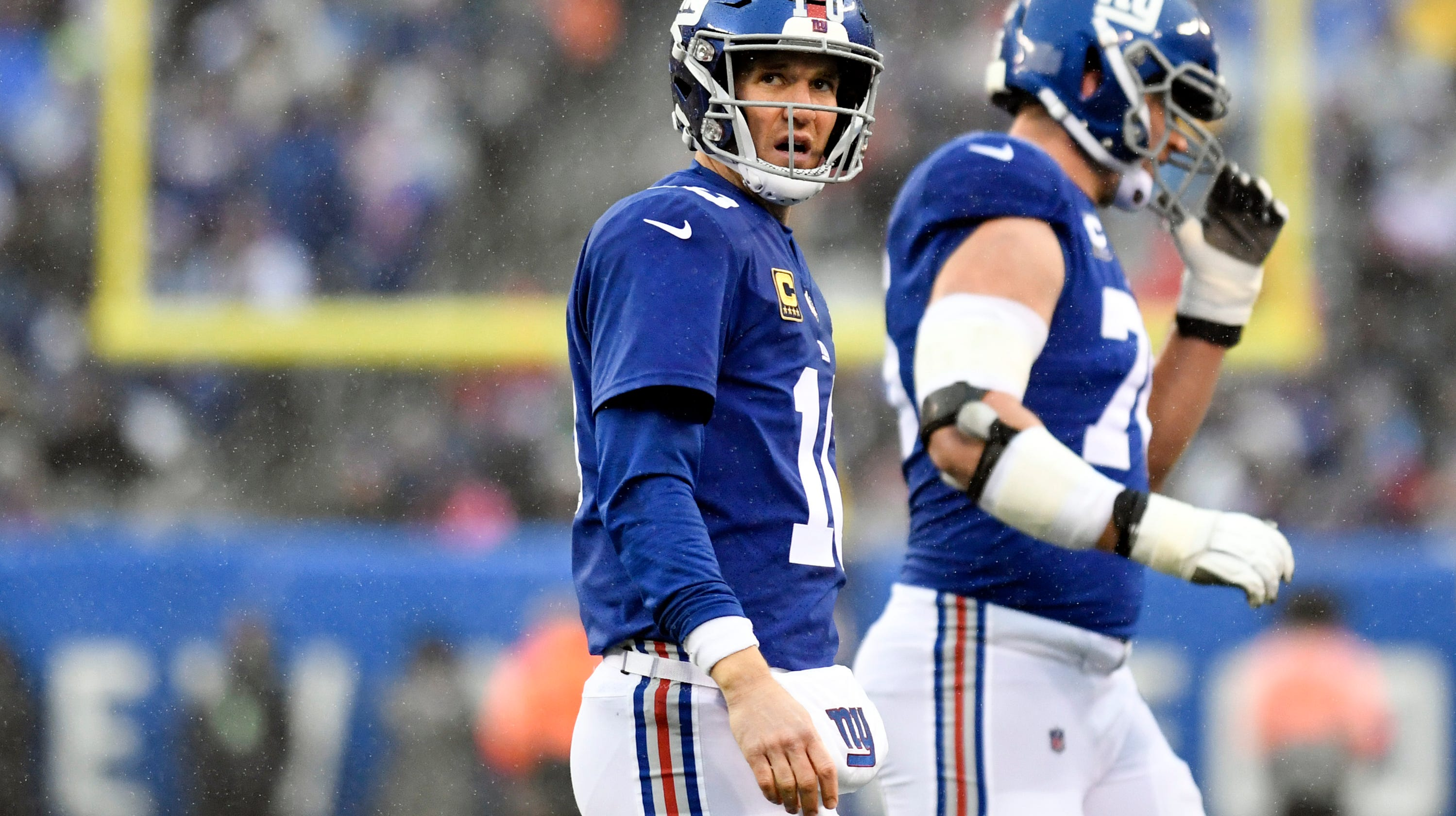 c3cfd5beb Eli Manning answers whether Sunday s game will be his last with NY Giants
