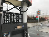 A pair of gas stations on River Drive in Elmwood Park offered a gallon of regular for $2.15 on Dec. 16, 2018. Drivers said the price pulled them in.