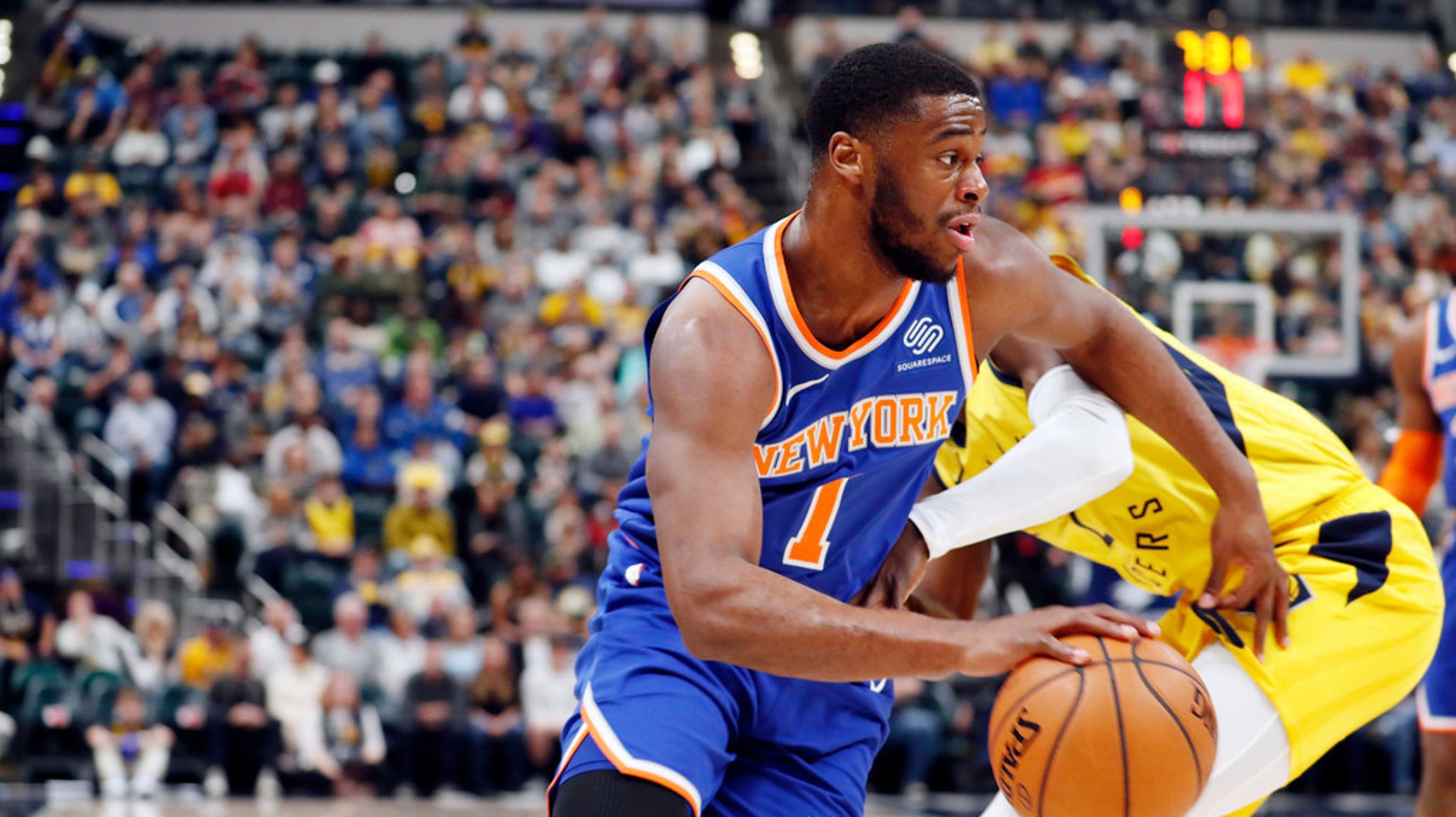 49aa5bef114 Emmanuel Mudiay has fallen into a rhythm for New York Knicks