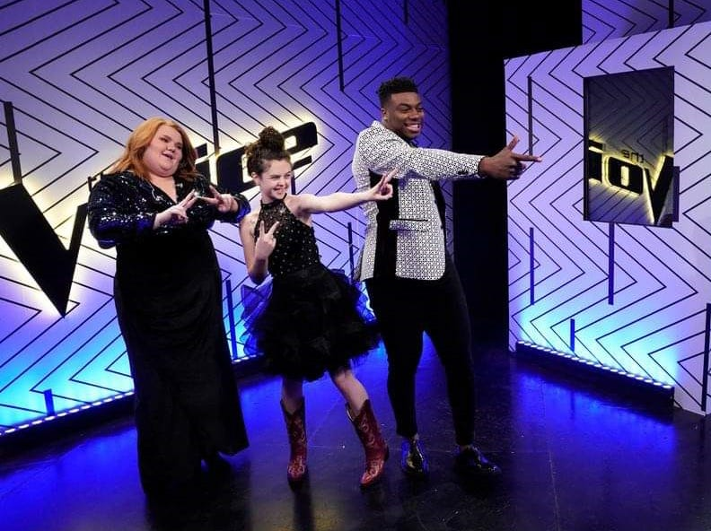 """Chevel Shepherd will be back onstage Monday night for the final Top Four competition on NBC's """"The Voice."""" The winner of a recording contract will be announced Tuesday."""