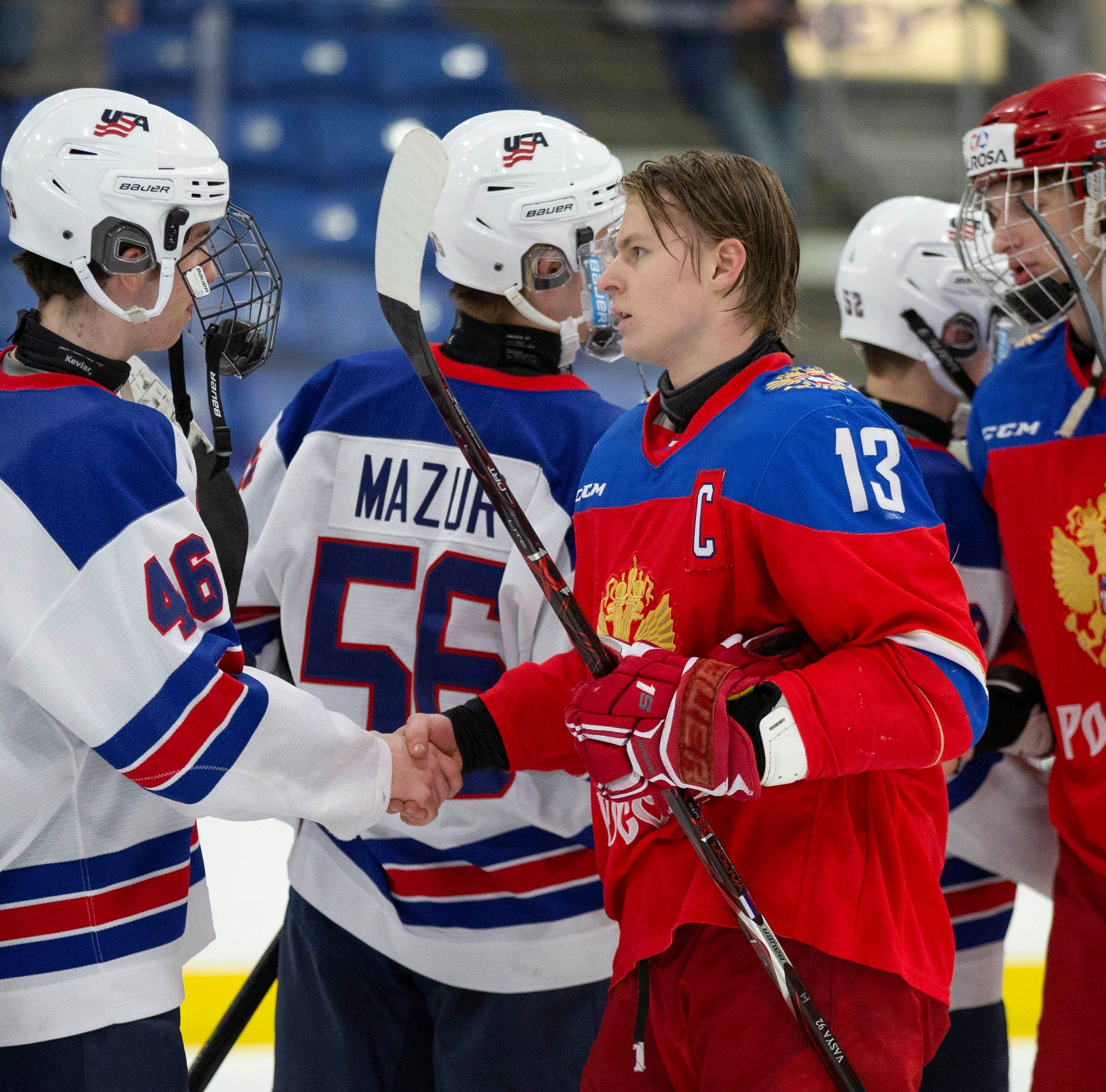 Team USA suffers OT loss to Russia in Four Nations finale