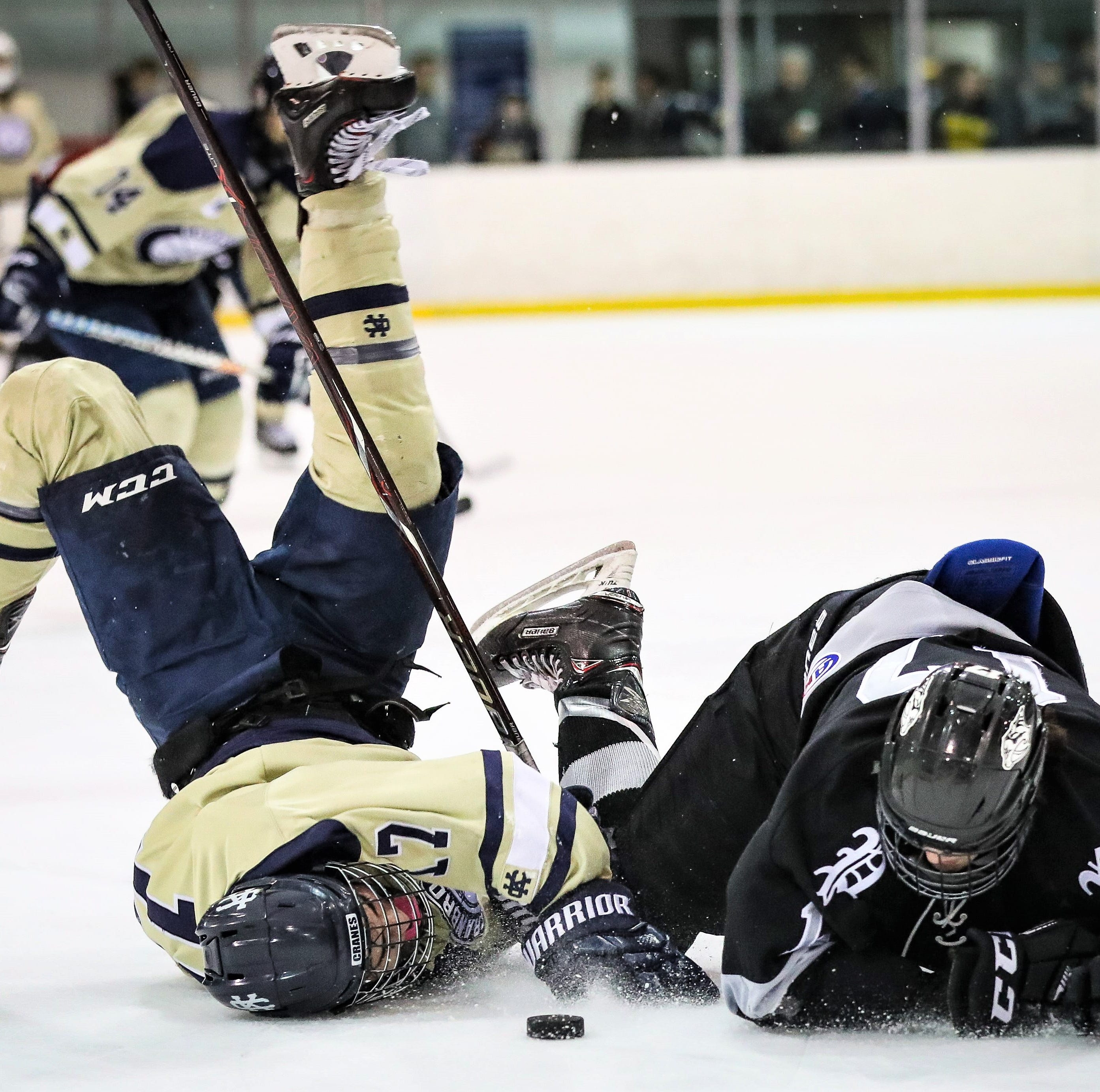 Cranbrook cools off Plymouth in MIHL-KLAA Challenge Showcase at Edgar