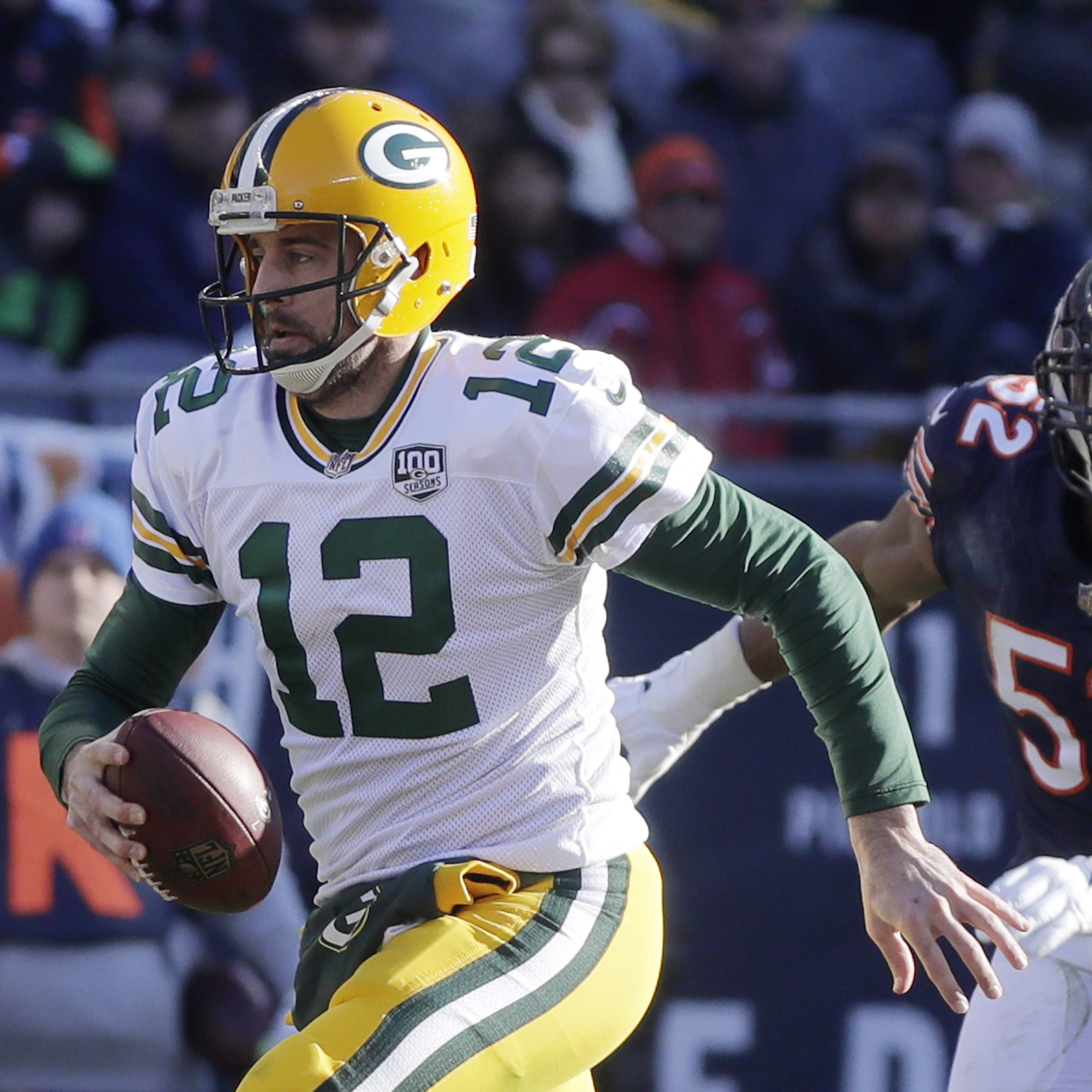 Packers to open NFL's 100th season in Thursday night game vs. Bears at Soldier Field