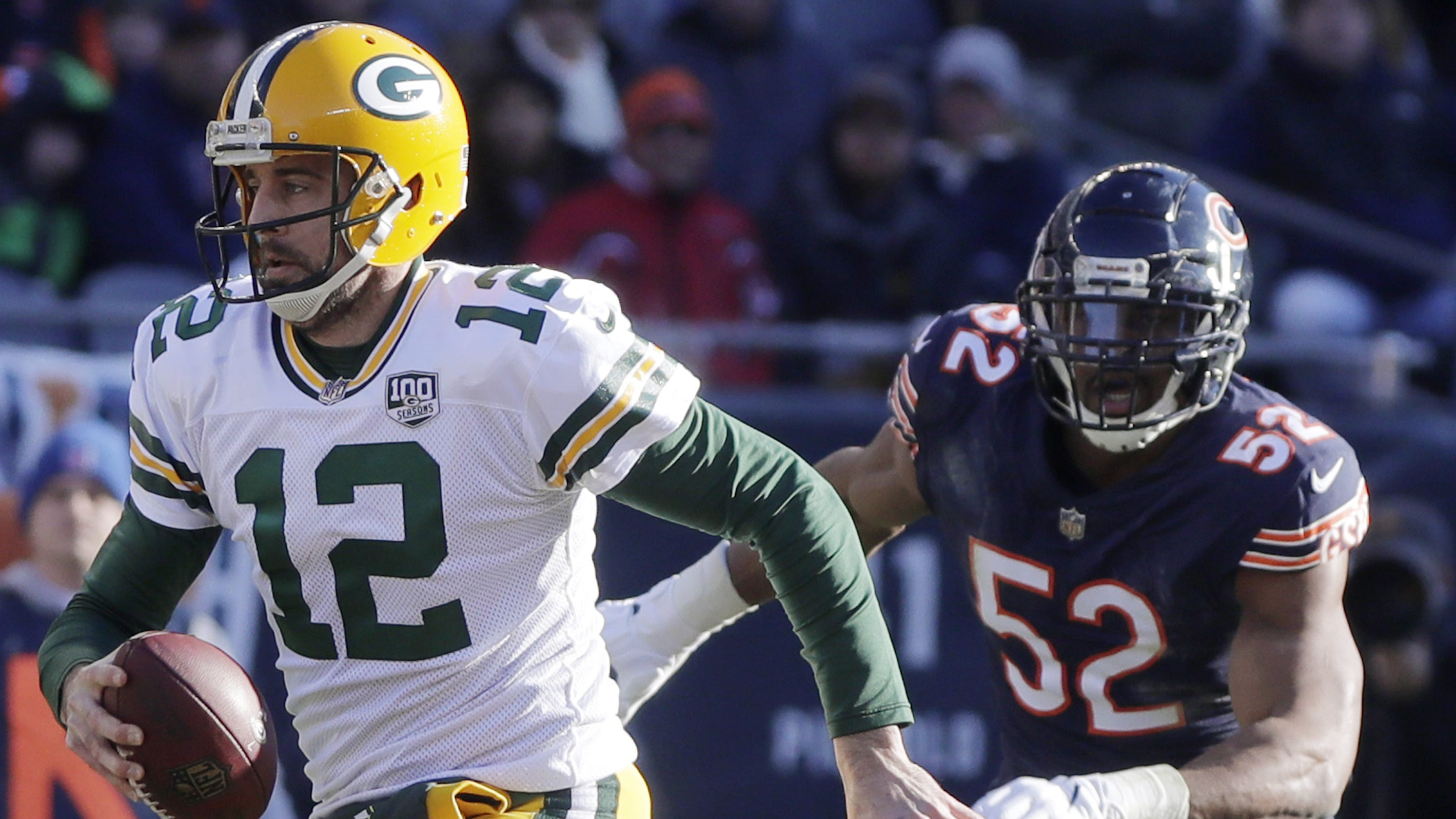 9604dabcbaa Packers to open NFL s 100th season in Thursday night game at Bears