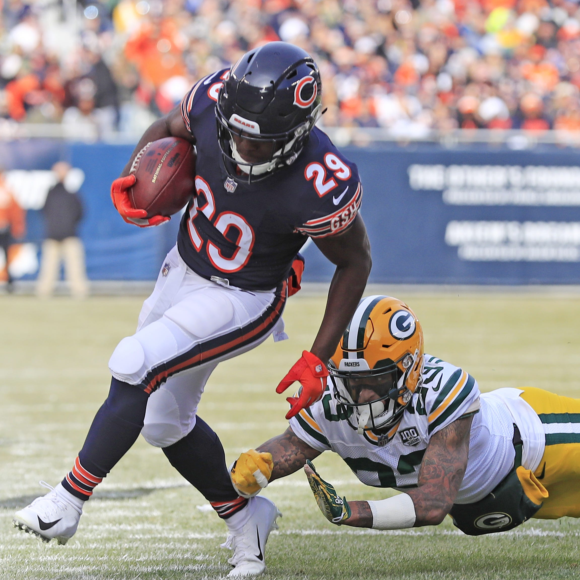 Quick takes: Packers out of playoff race after 24-17 loss to division champ Bears