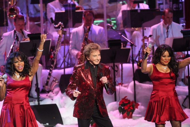 Barry Manilow performs at The Show at the Agua Caliente Casino in Rancho Mirage, California on December 15, 2018. The concert titled, A Very Barry Christmas, was a near sold-out at the venue.