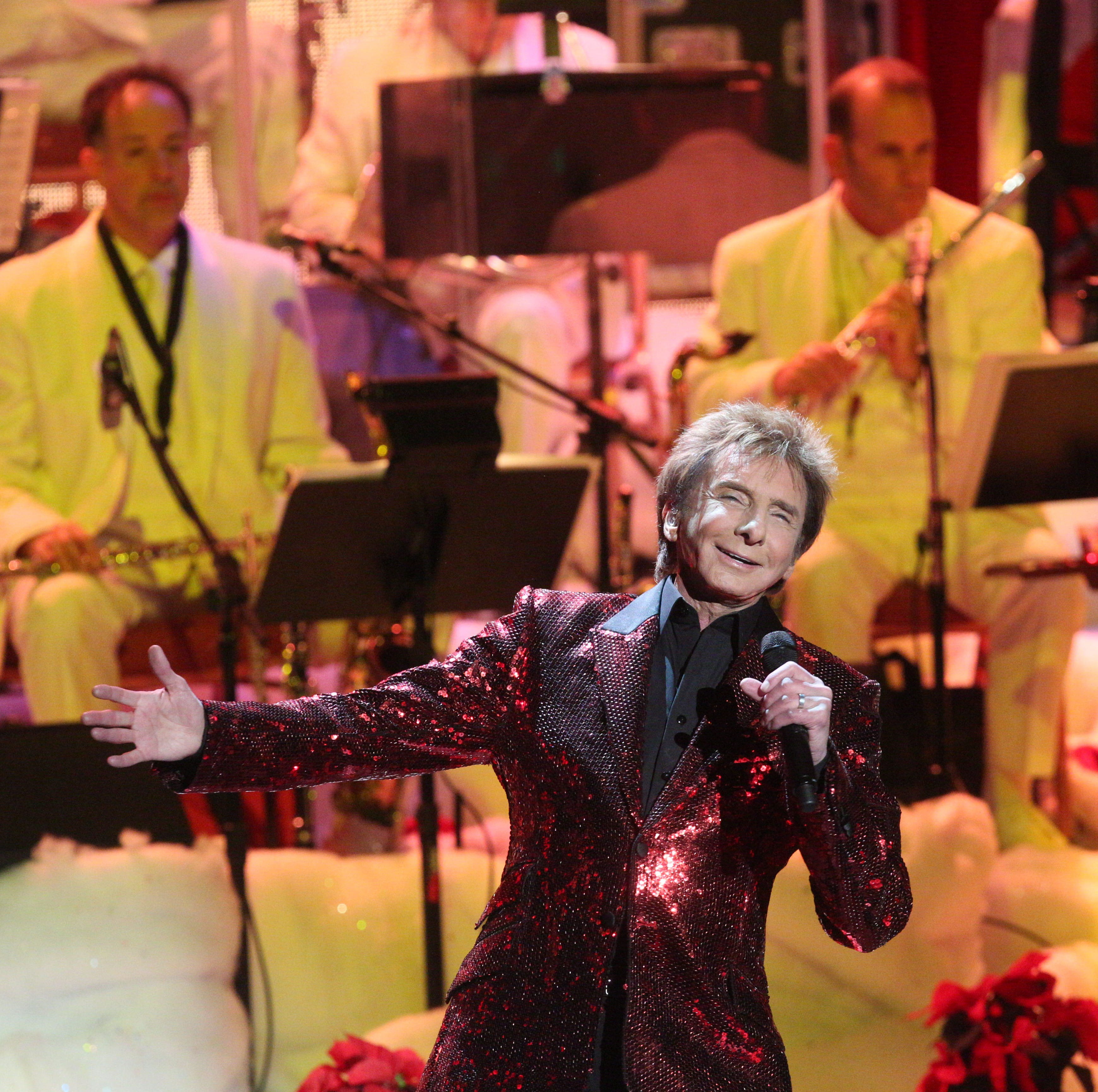 Palm Springs' Barry Manilow wants to give $100,000 to one lucky high school band