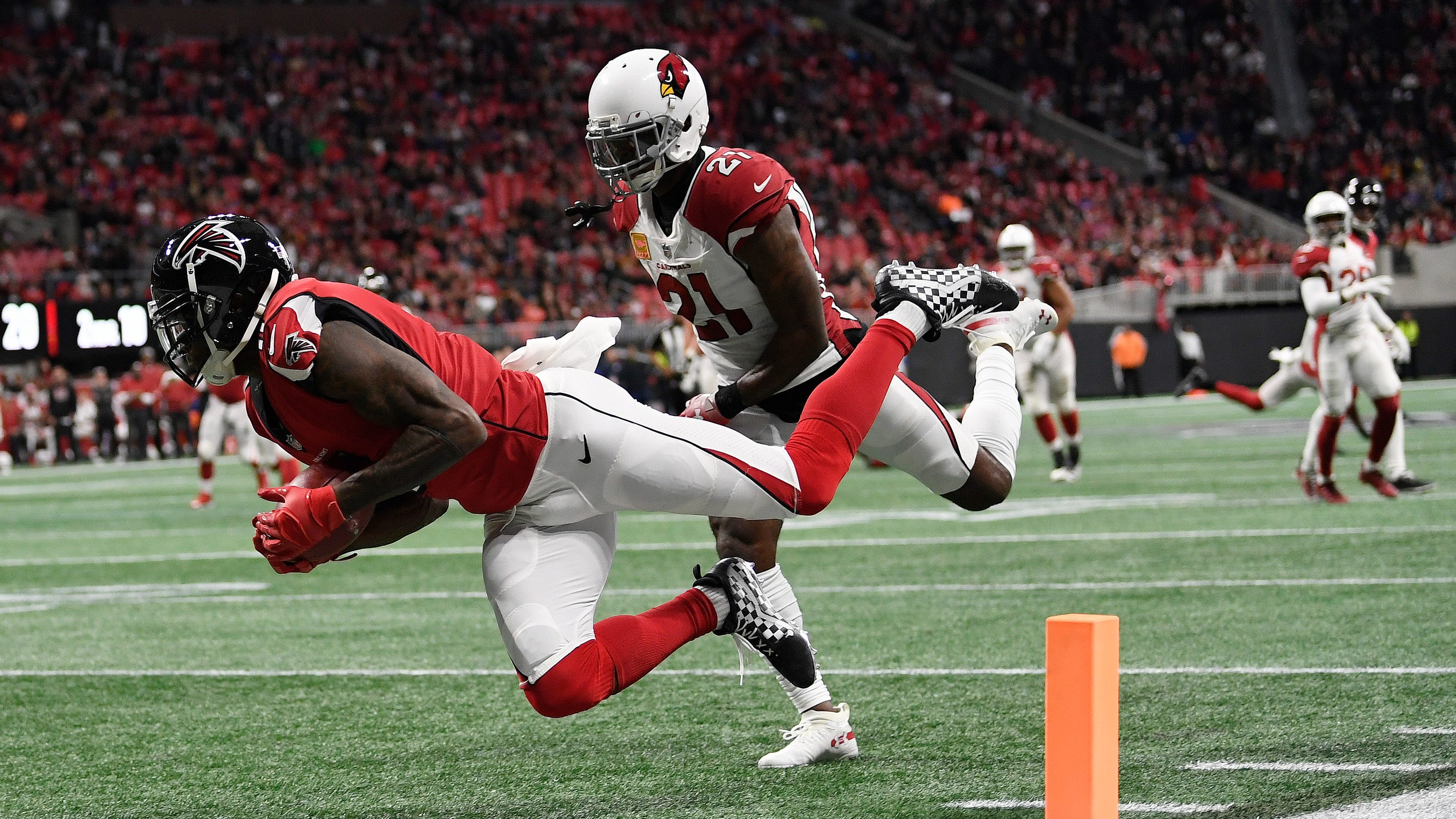newest fcb88 c5599 Arizona Cardinals fail in all phases against Falcons