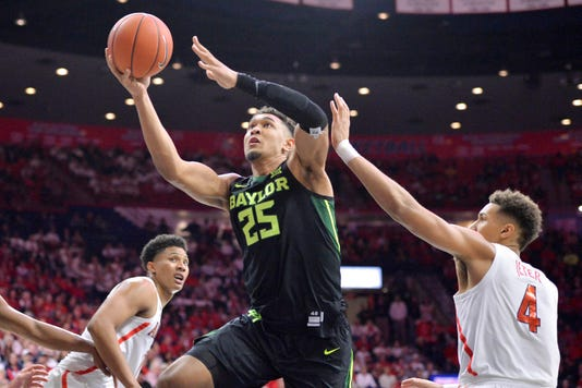 Ncaa Basketball Baylor At Arizona