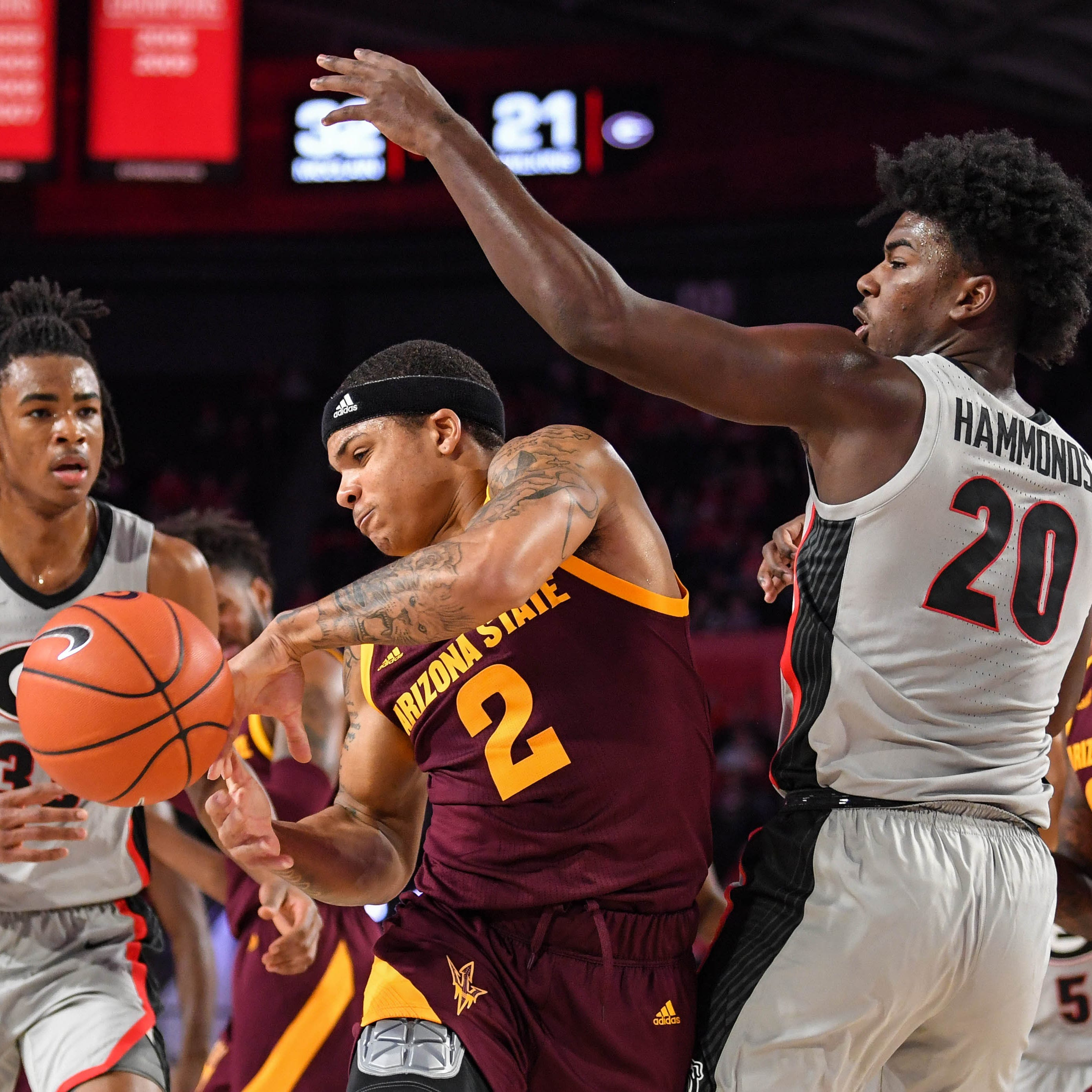 ASU basketball rallies for road win over Georgia