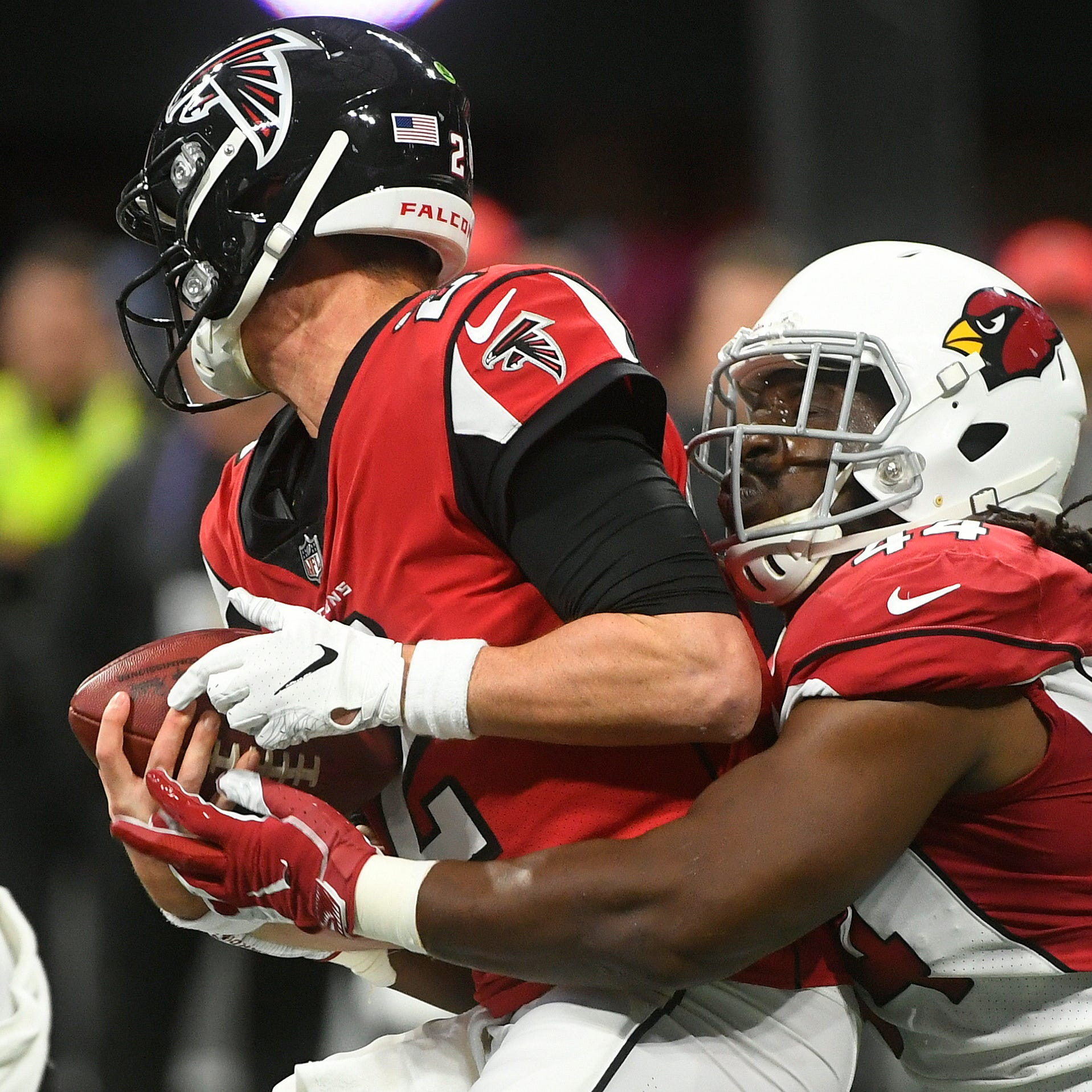 Live updates: Josh Rosen, Cardinals trail Falcons at halftime