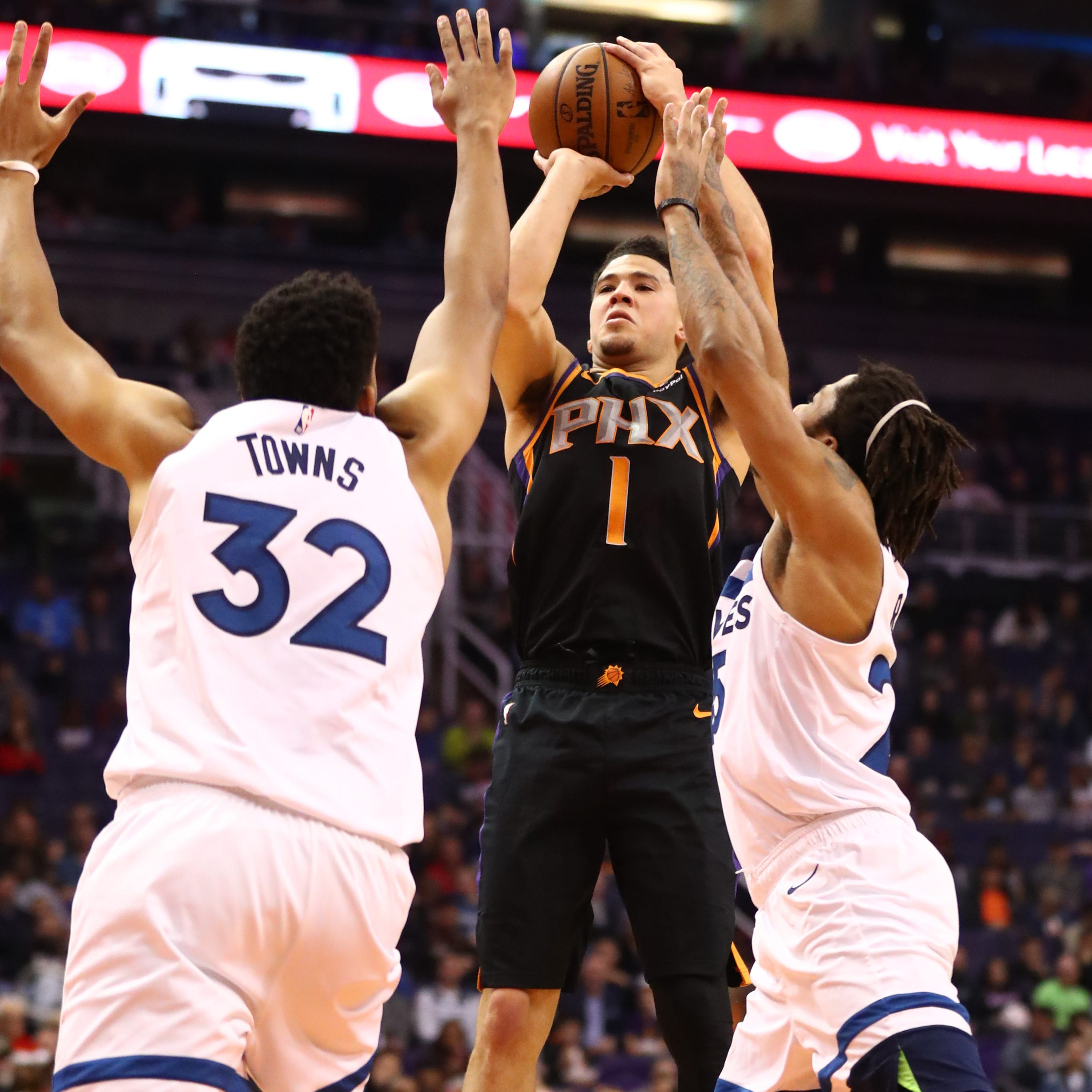 Devin Booker returns and helps deliver Suns' first set of consecutive wins with 28 points