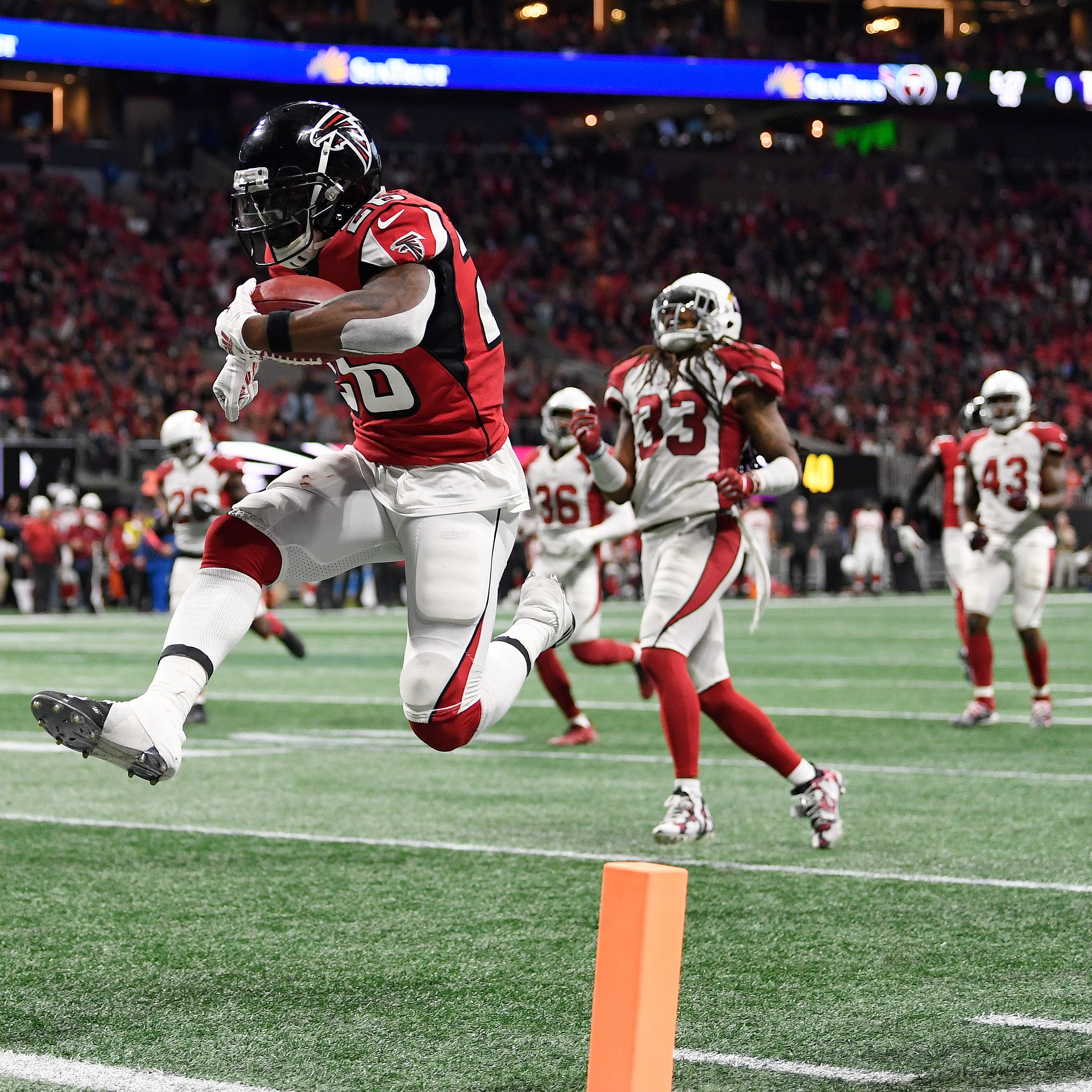 Instant replay: Falcons take advantage of Josh Rosen's turnovers, throttle Cardinals
