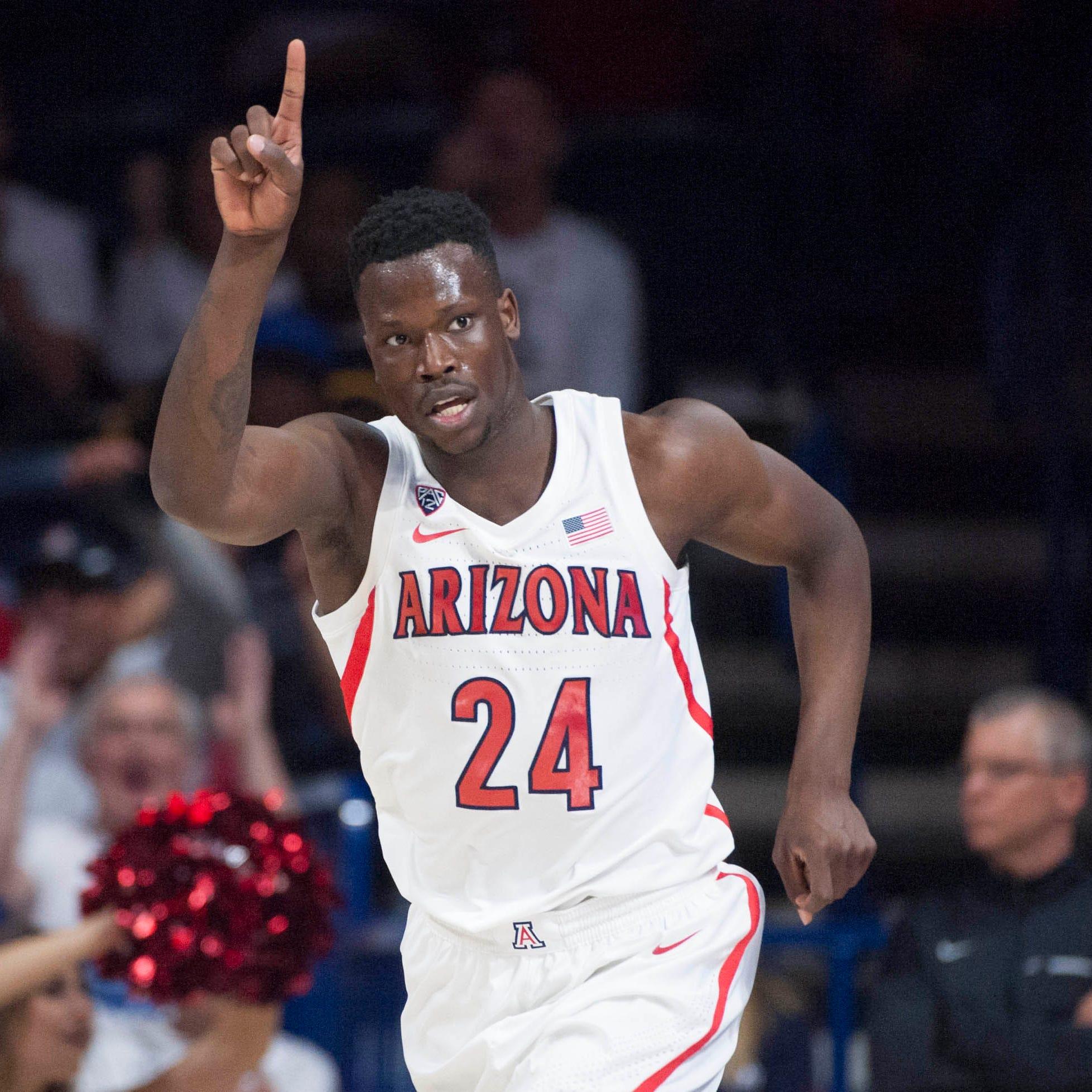 Report: Sophomore forward Emmanuel Akot has left Arizona Wildcats basketball ahead of transfer