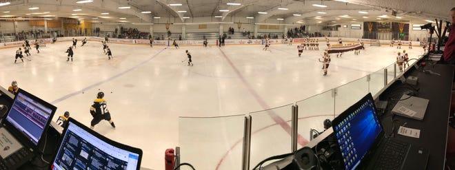ASU hockey hosts Colorado College at Ocenside Arena on Thursday, Dec. 14, 2018.