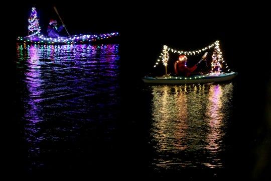 The 15th-annual Illuminata Regatta is set for 5:30 to 7 p.m. Saturday, Dec. 21, at Riverfront Park.