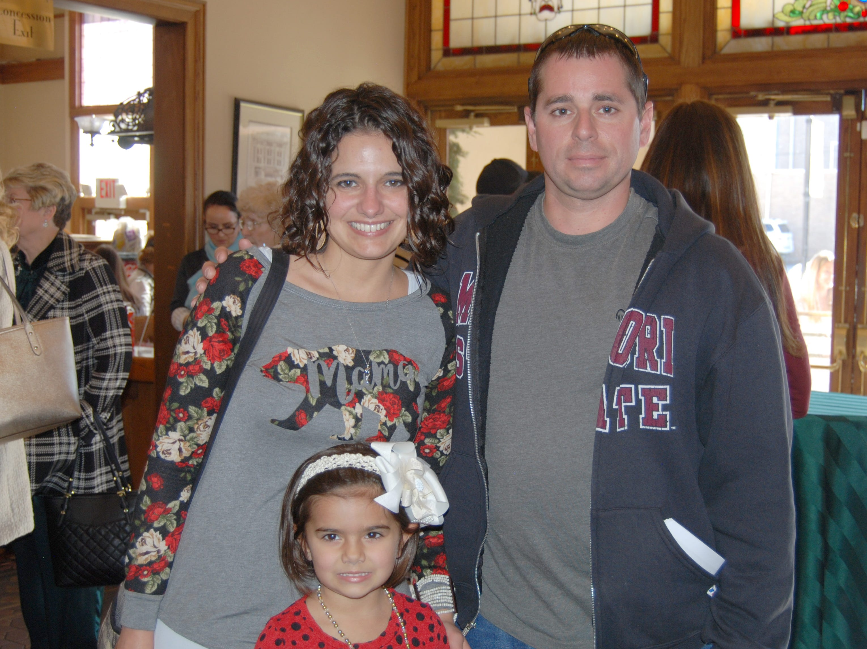 Carla and Emma and Joey Napolitano