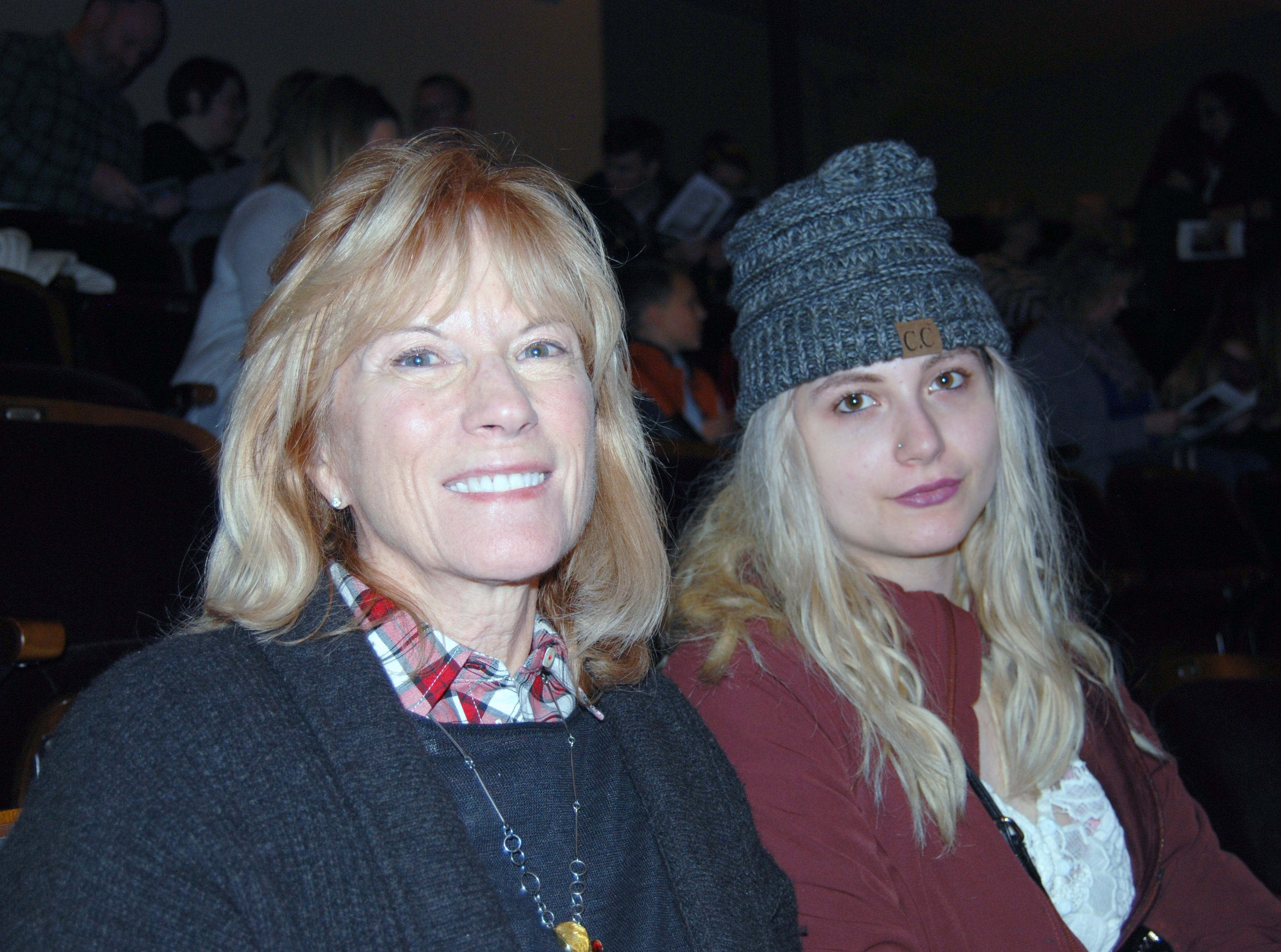 Debra Johnson and Sarah Barness