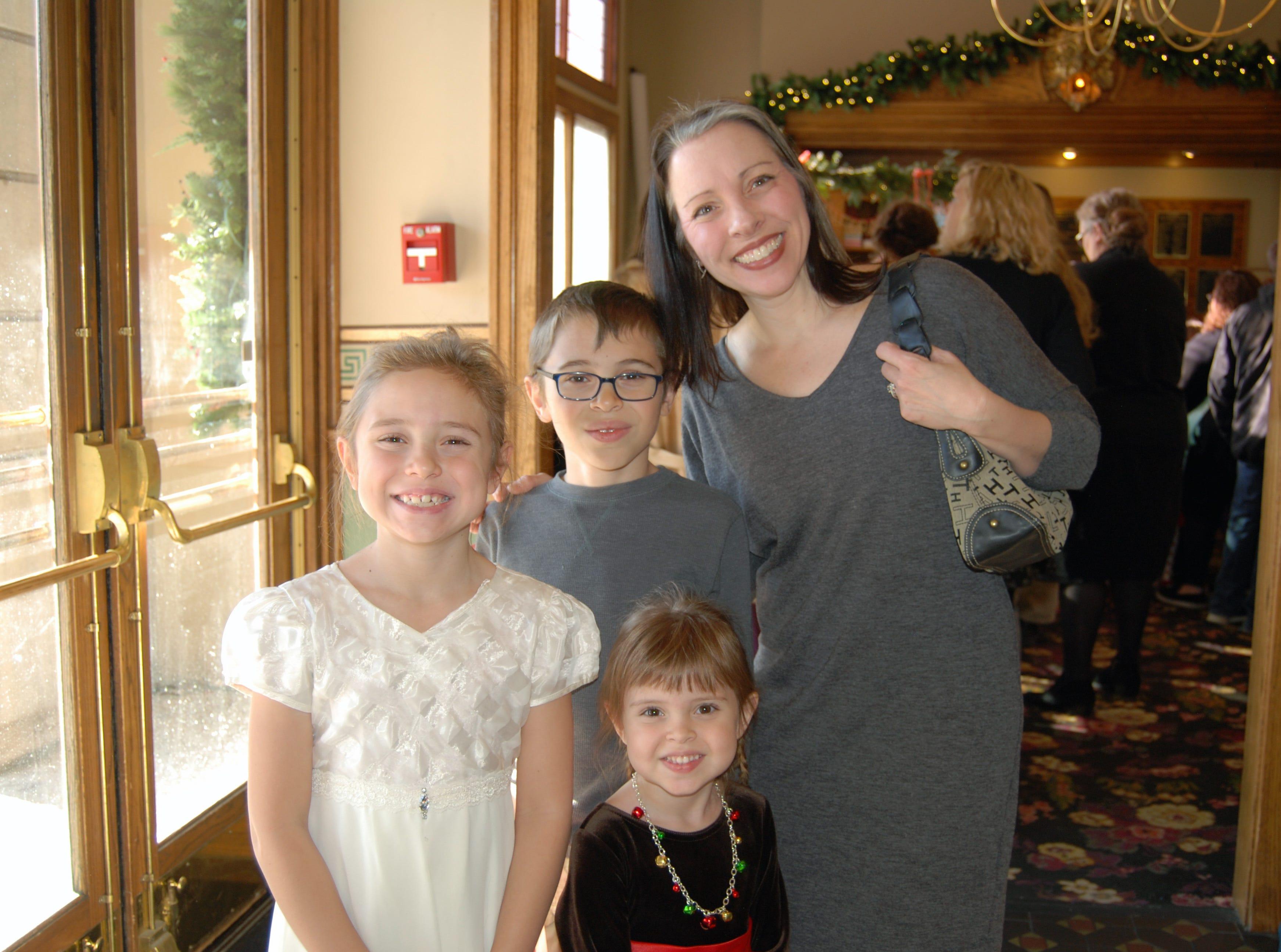Marcella, Elsalynn, Adam and Stephanie Campbell