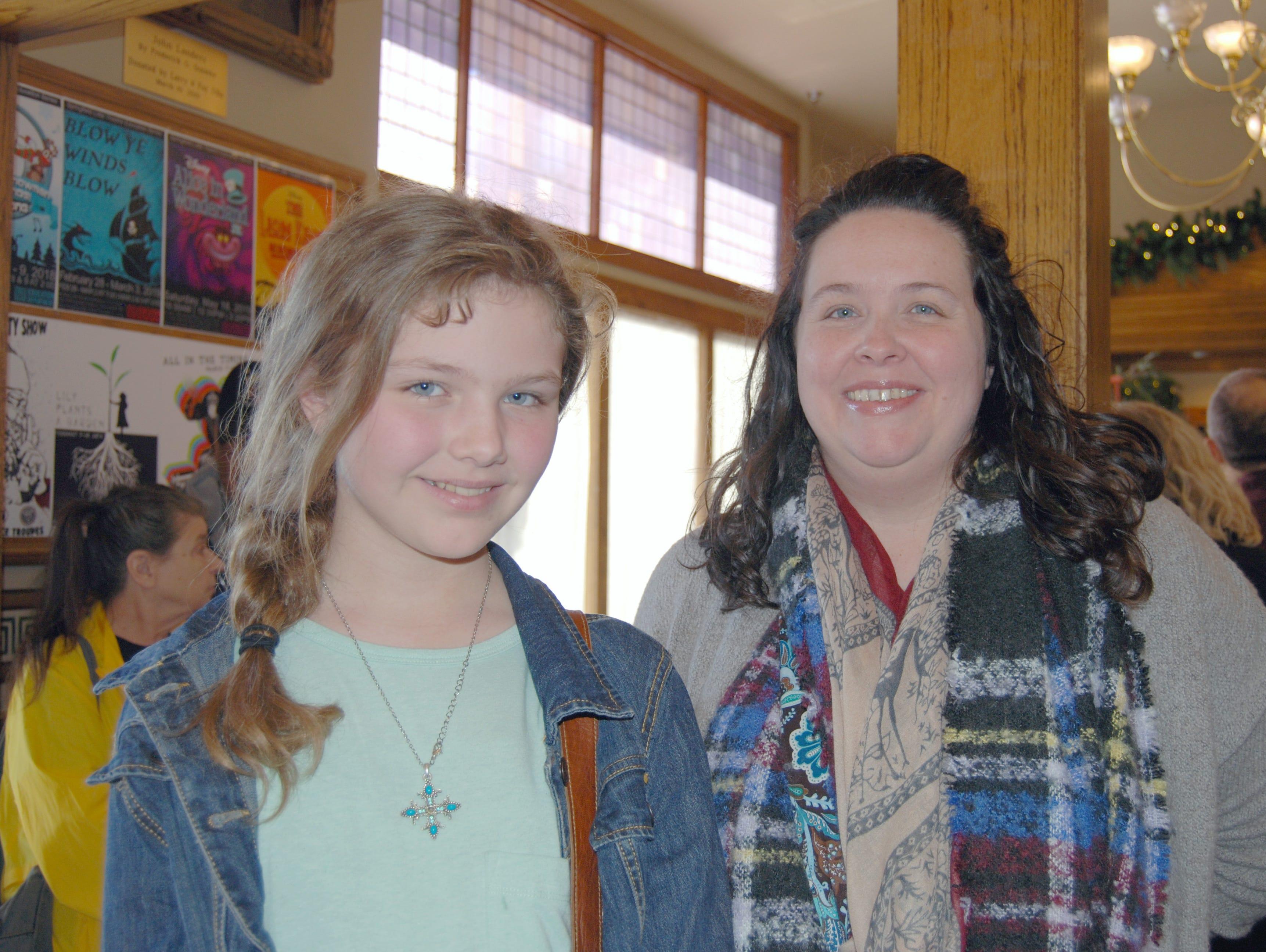 Lindsay and Tabitha McDonald