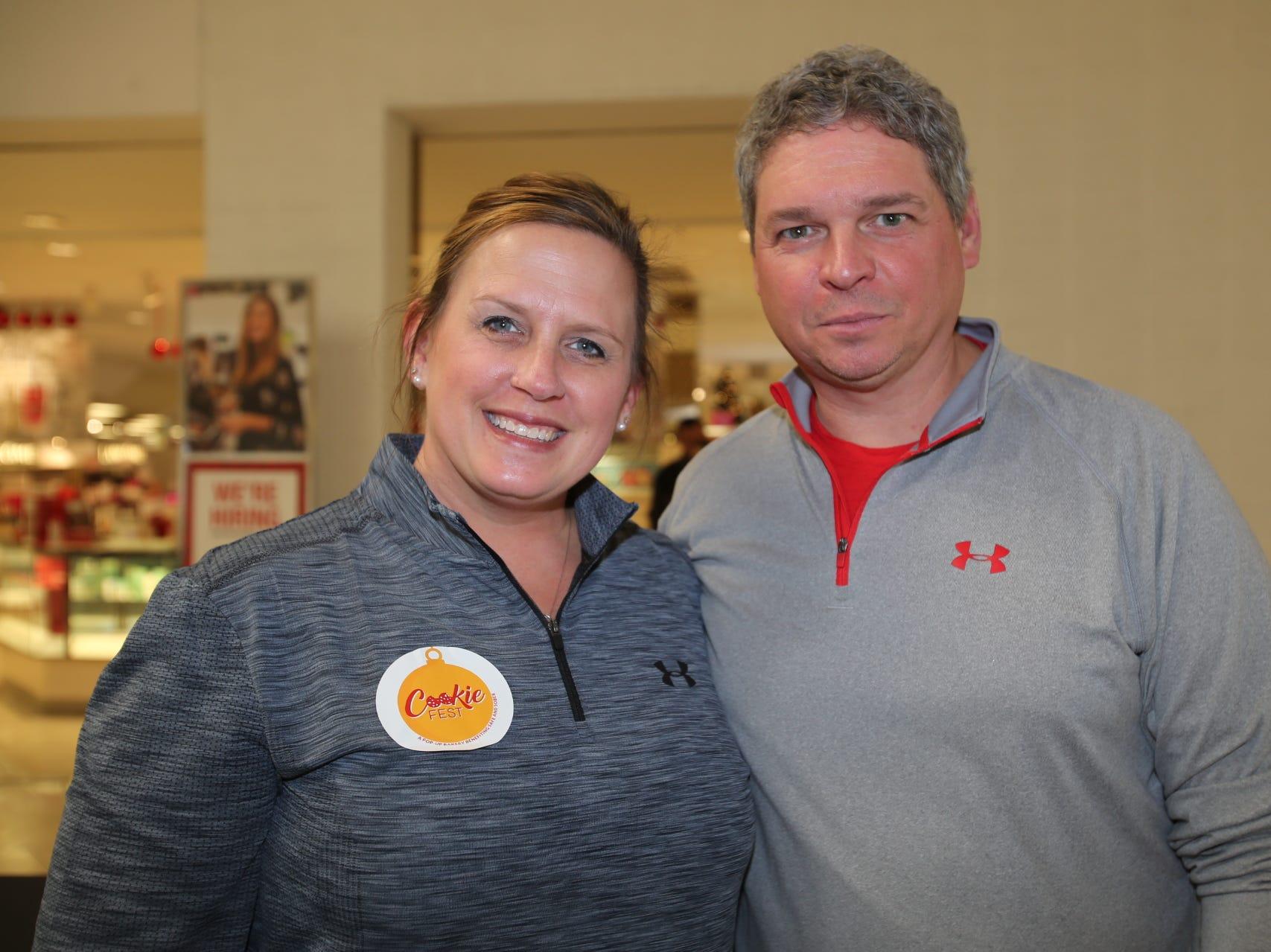 Julie Gray and Steve Peterie