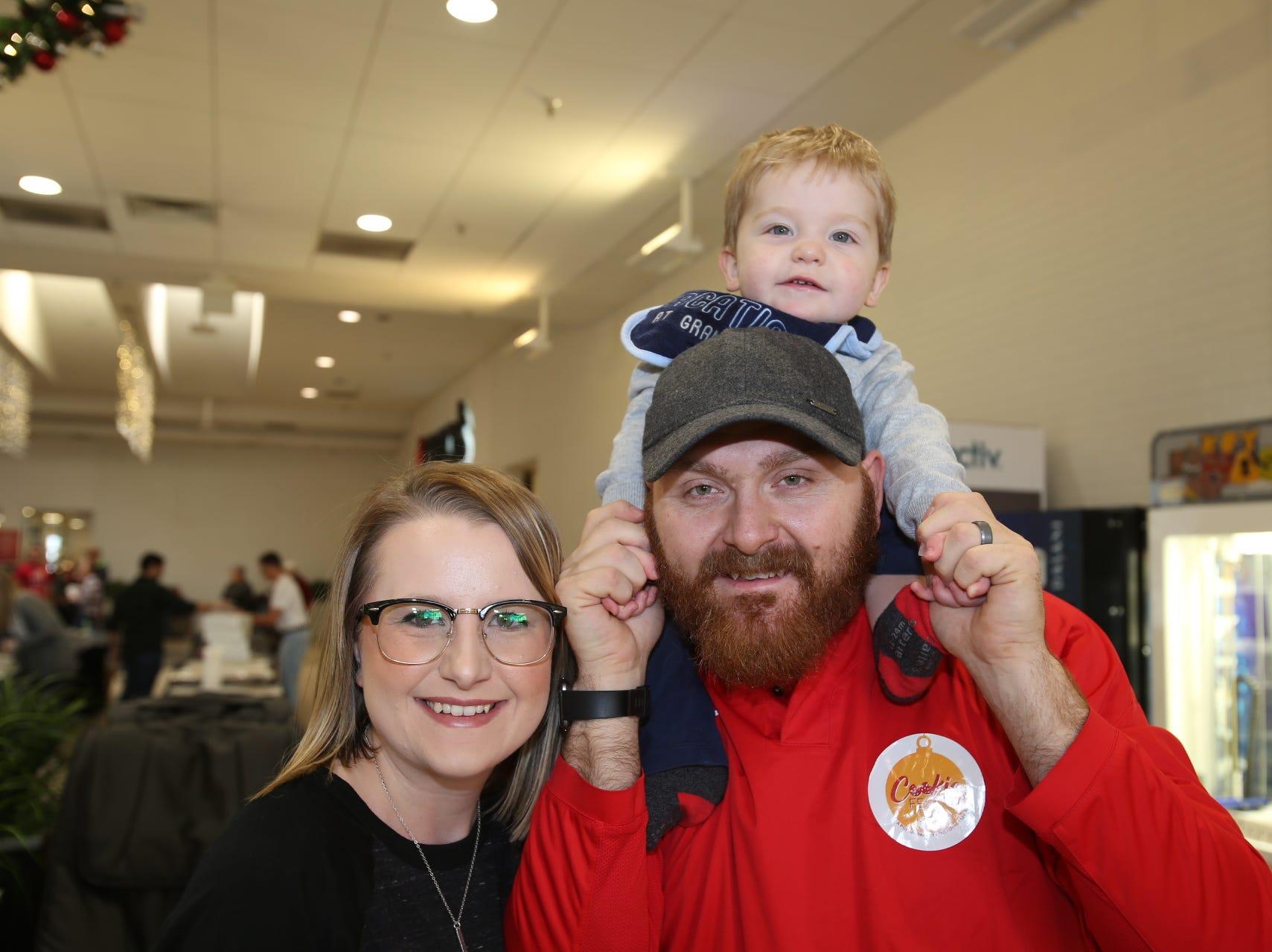 Tori, Ryan, and Isaiah Morris