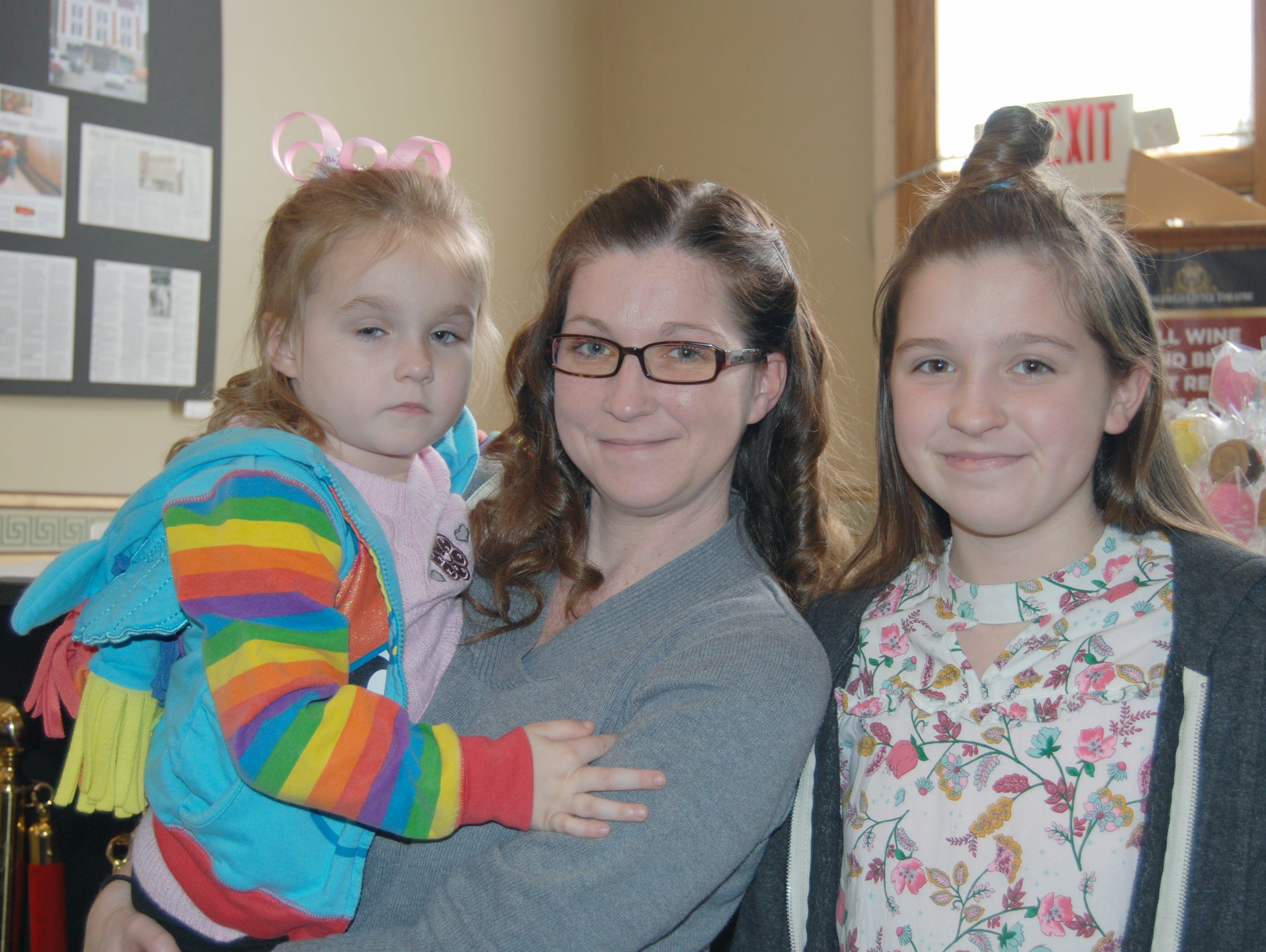Kayleigh, Colleen and Kimberly David