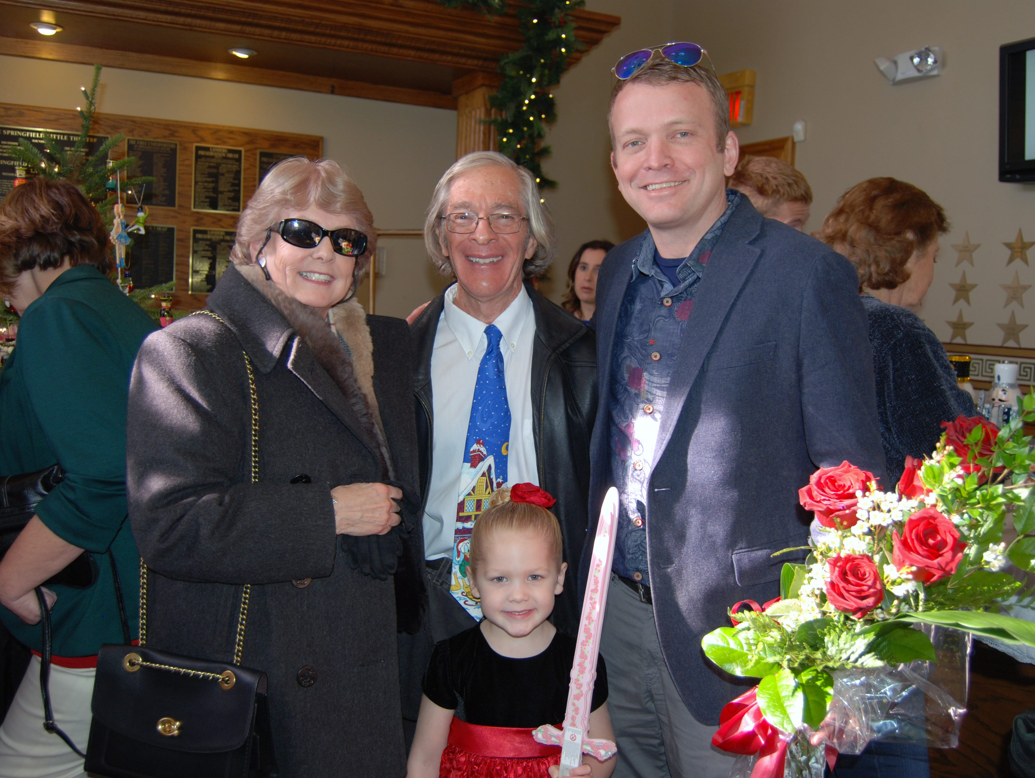 Karen and Jeff Richardson and Cora and Robert Shaw
