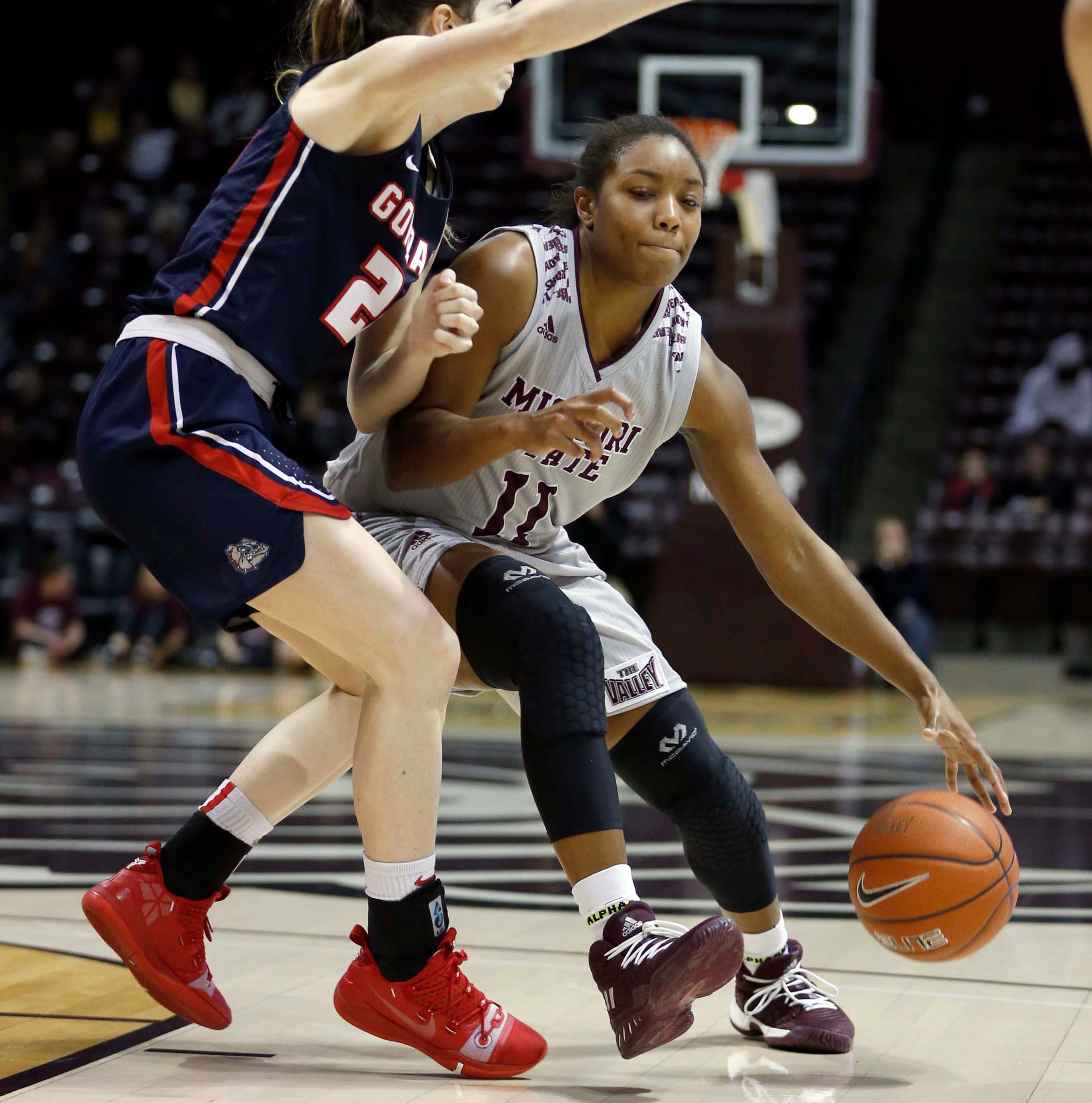 Lady Bears rally comes up short against No. 21 Gonzaga