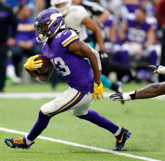 Vikings run over Miami, 41-17