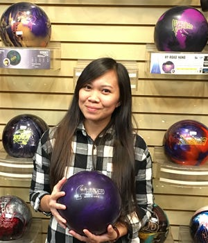 Christabelle Ford rolled her first 500 series in Mesquite last week, showing a marked improvement in just her second year on the lanes.