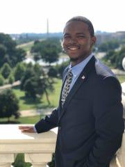 Jeffrey Simmons, an honors student at Florida A&M University, has been awarded a Charles B. Rangel Fellowship. Dec. 15, 2018