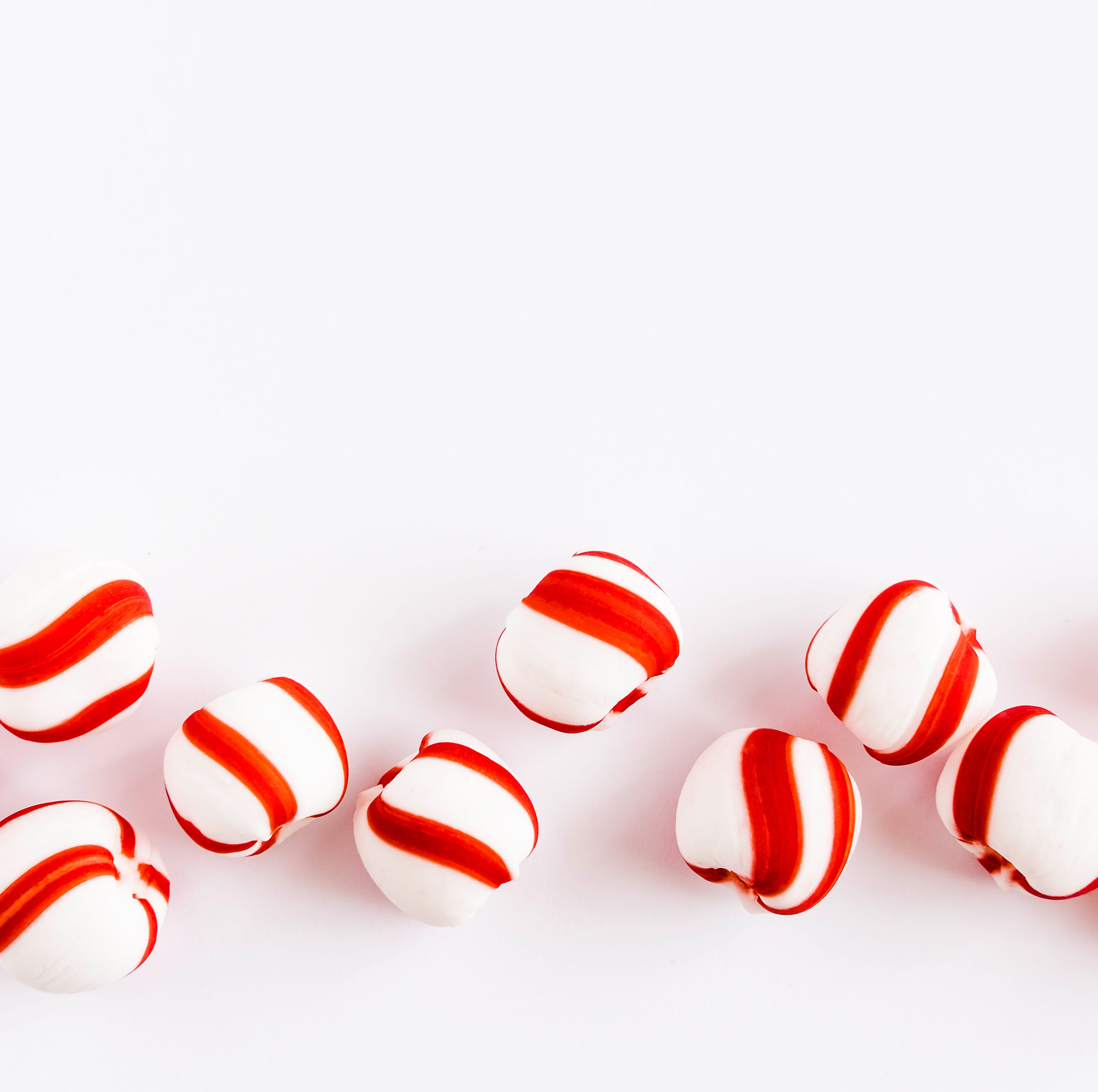 Peppermint candies are a Christmas tradition with a healthy twist.