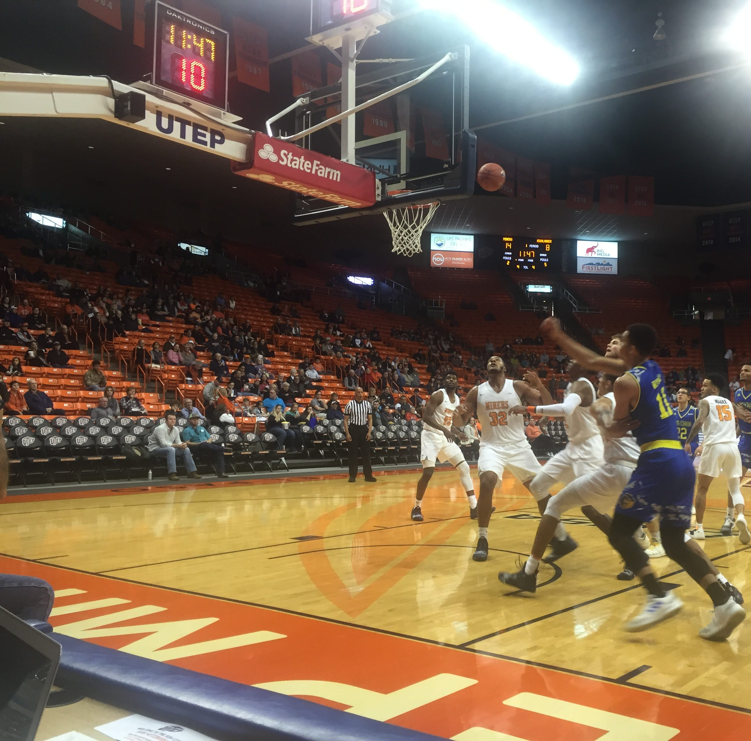 UTEP men's basketball: Miners knock off UC-Riverside, 68-56